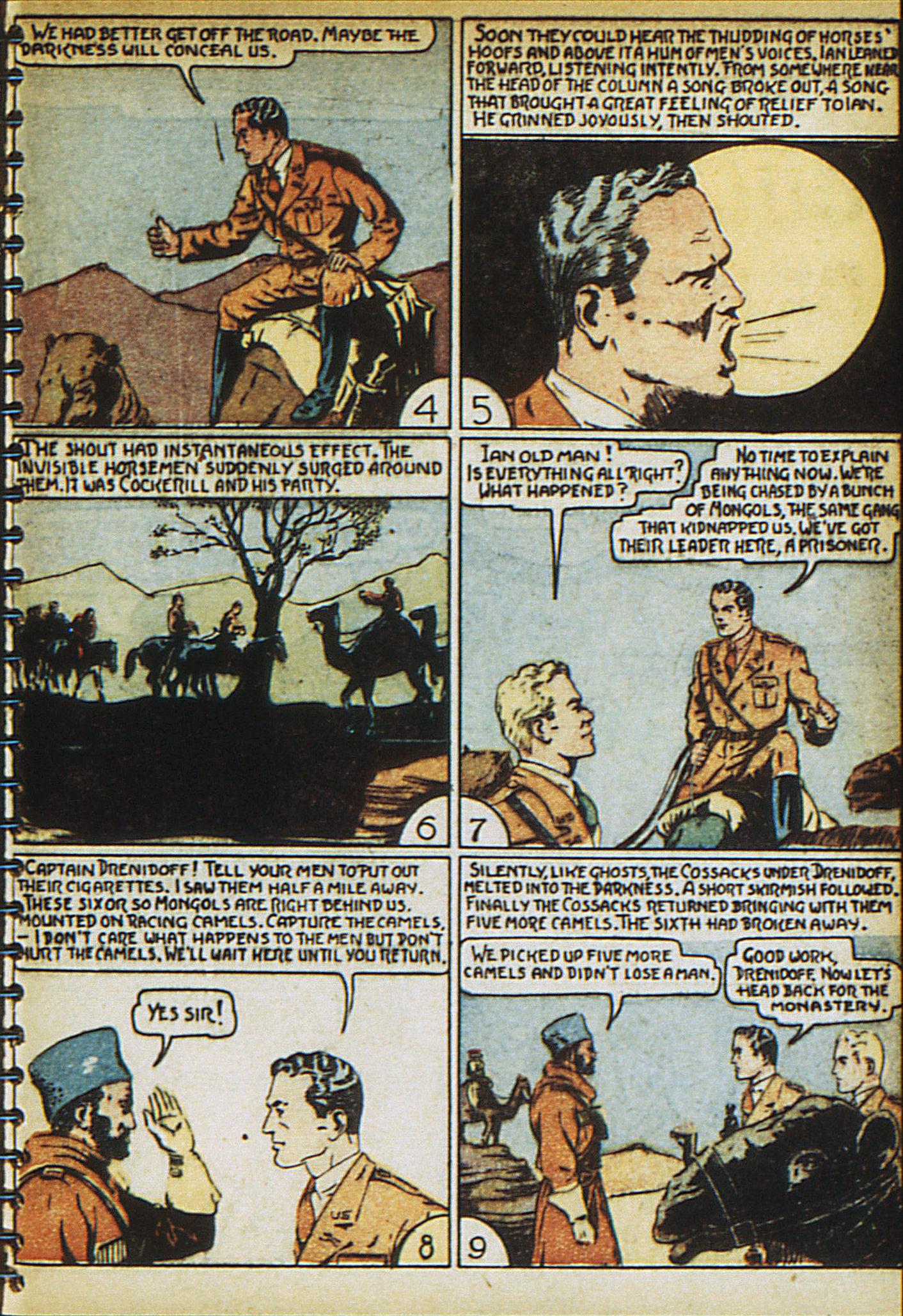Read online Adventure Comics (1938) comic -  Issue #23 - 33