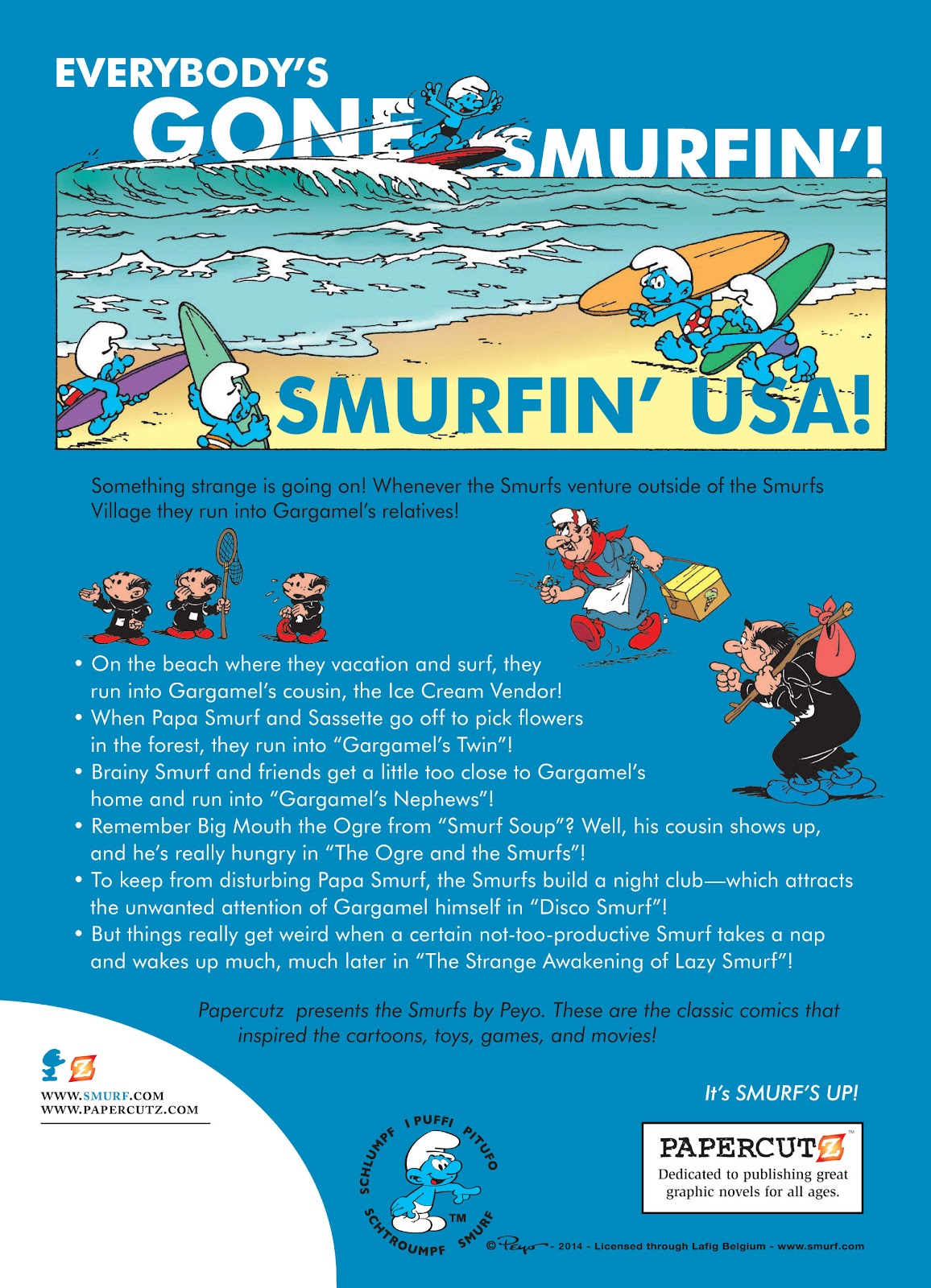 Read online The Smurfs comic -  Issue #17 - 56