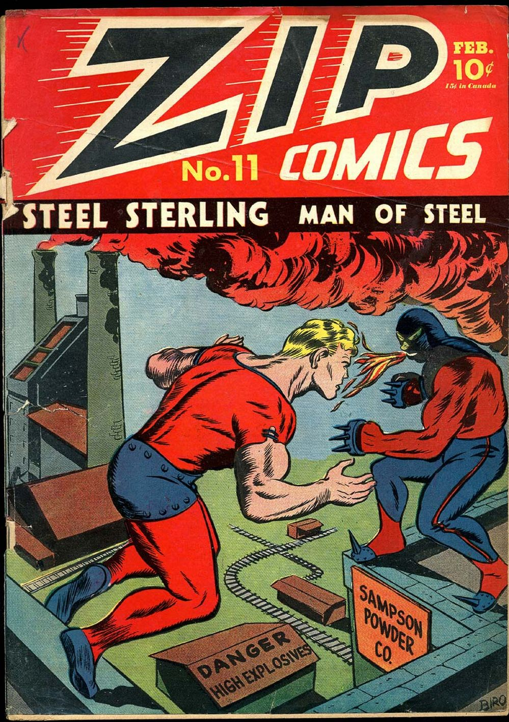 Zip Comics issue 11 - Page 1