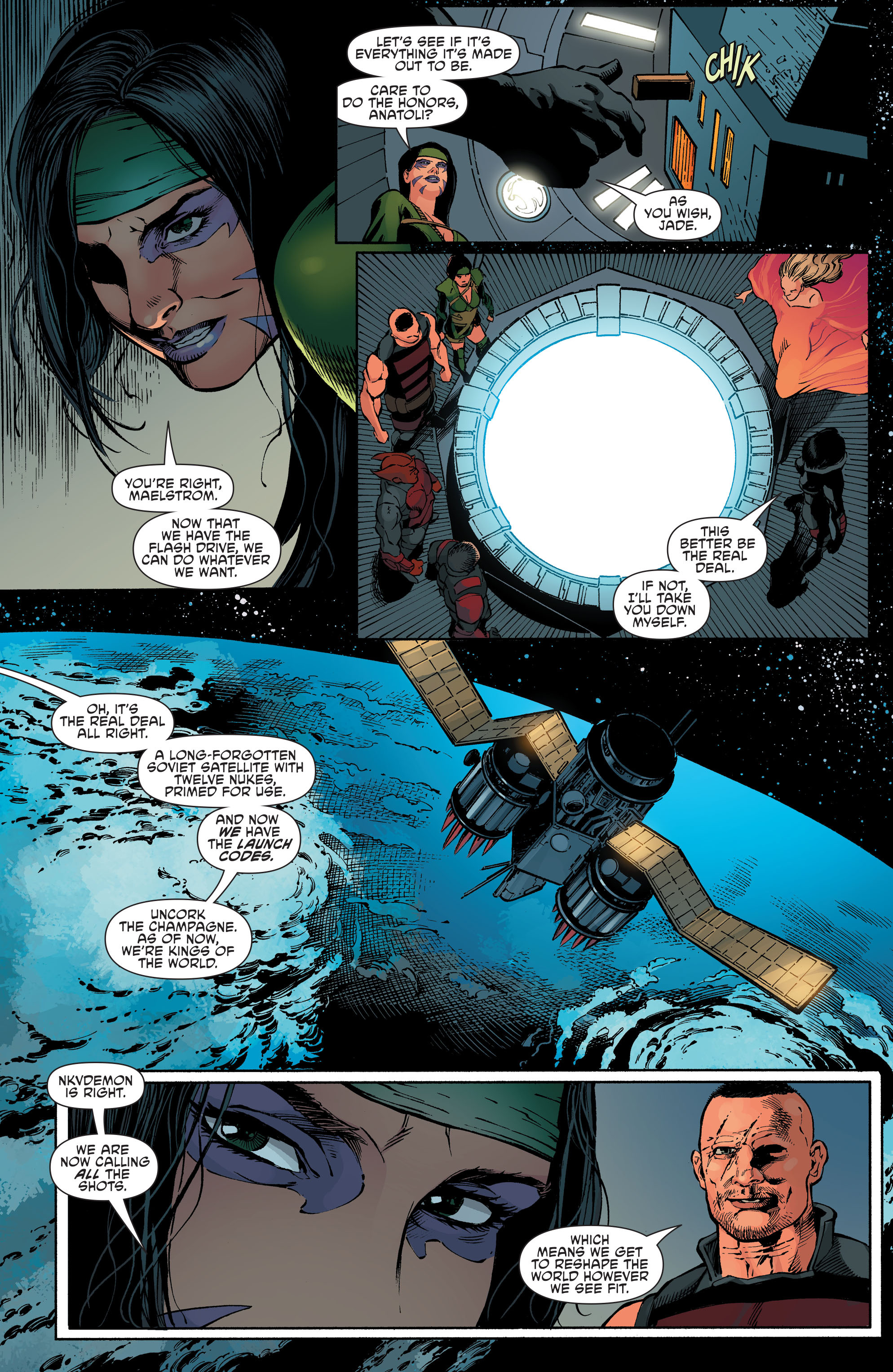 Read online Aquaman and the Others comic -  Issue #7 - 18