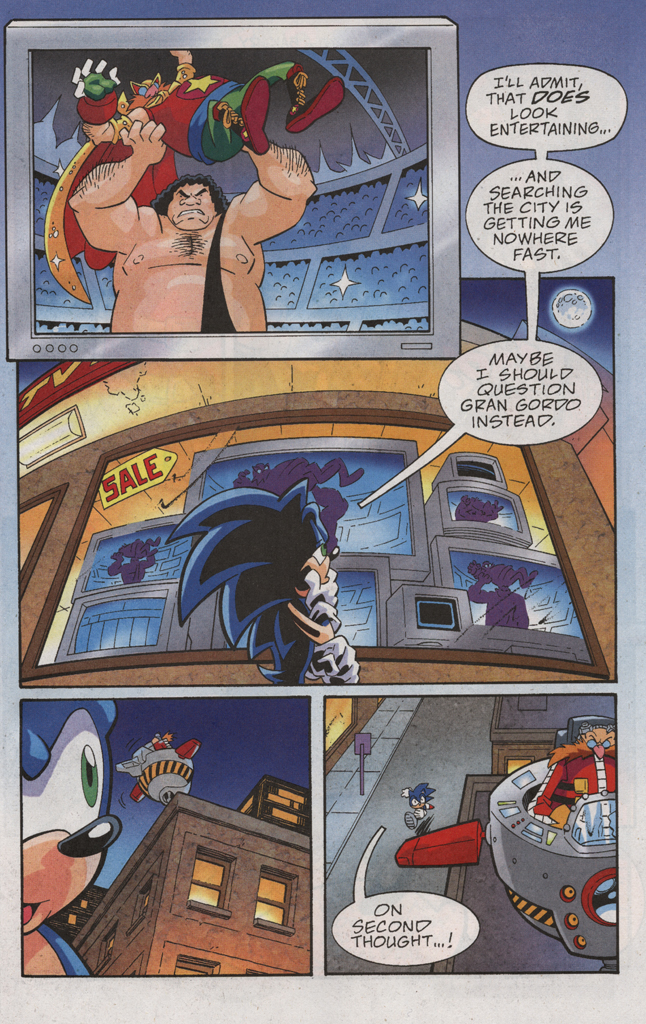 Read online Sonic X comic -  Issue #31 - 17