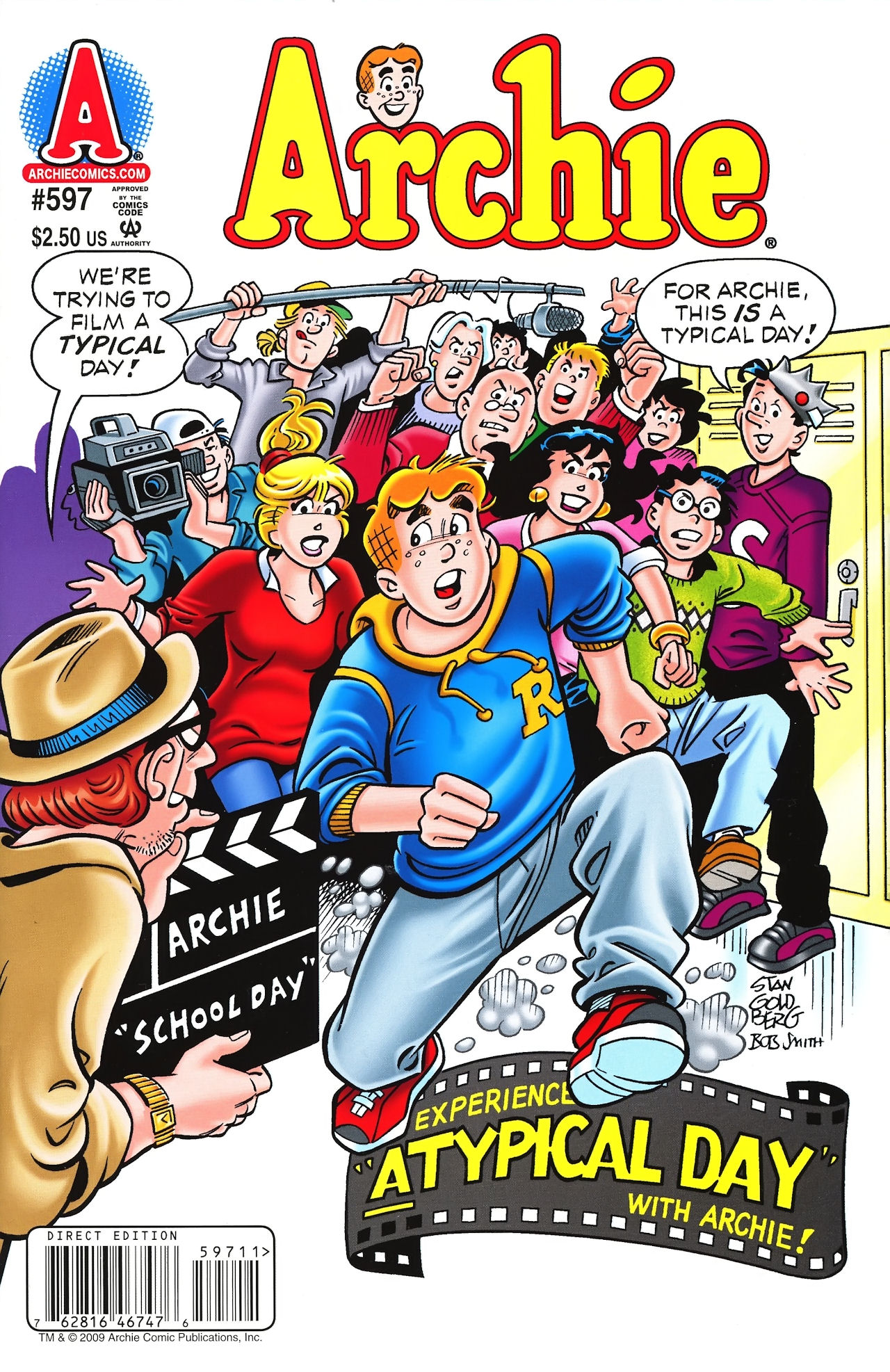 Read online Archie (1960) comic -  Issue #597 - 1