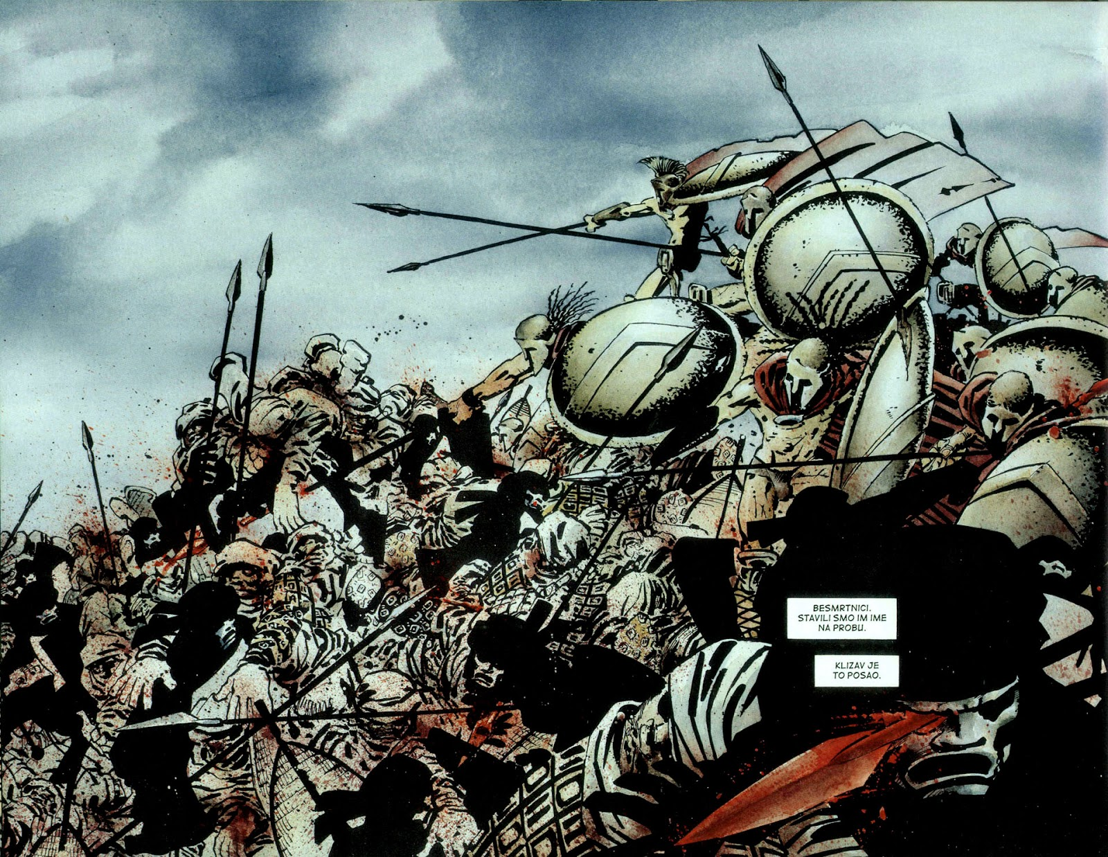 Read online 300 (2007) comic -  Issue # TPB - 59