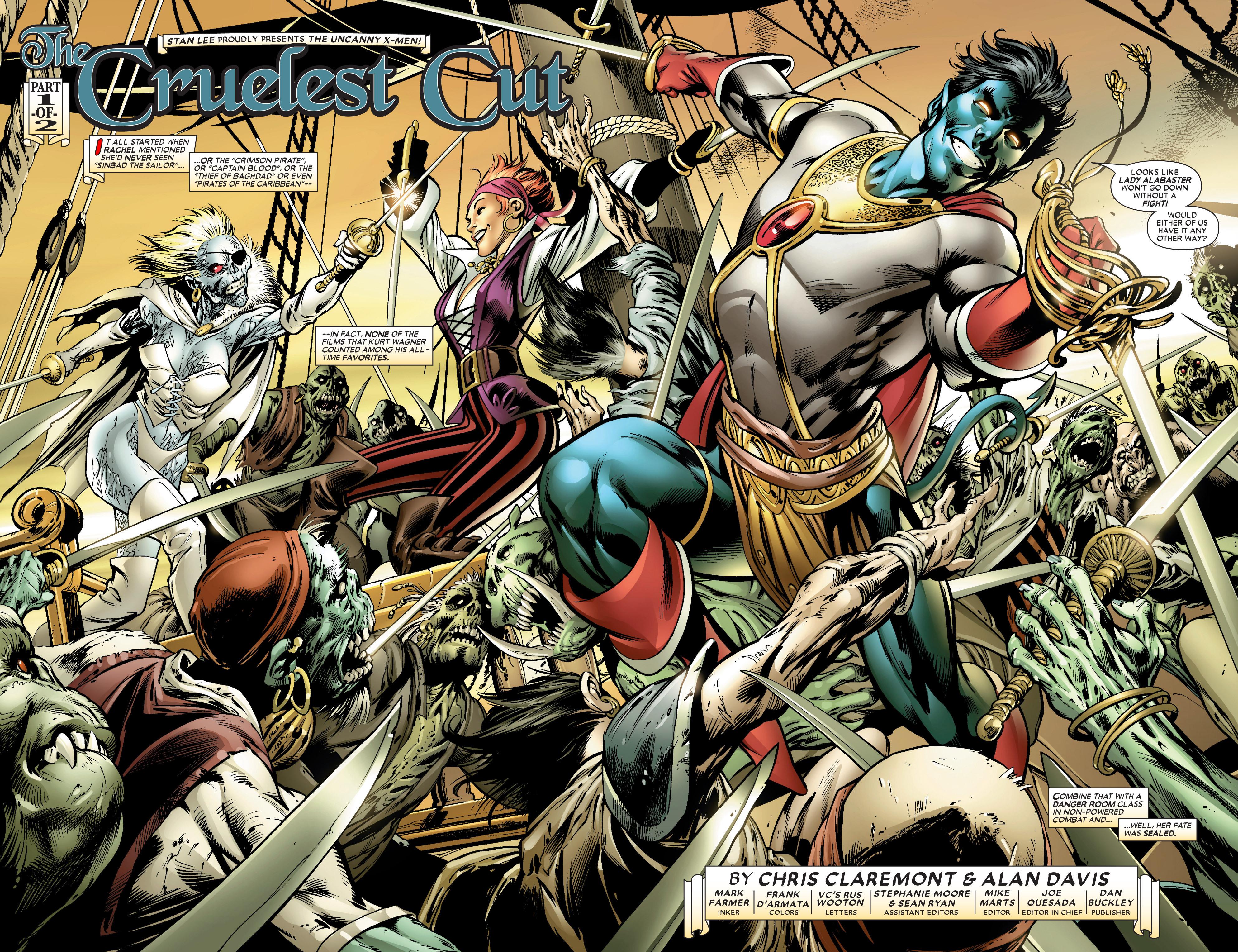 Read online Uncanny X-Men (1963) comic -  Issue #450 - 3