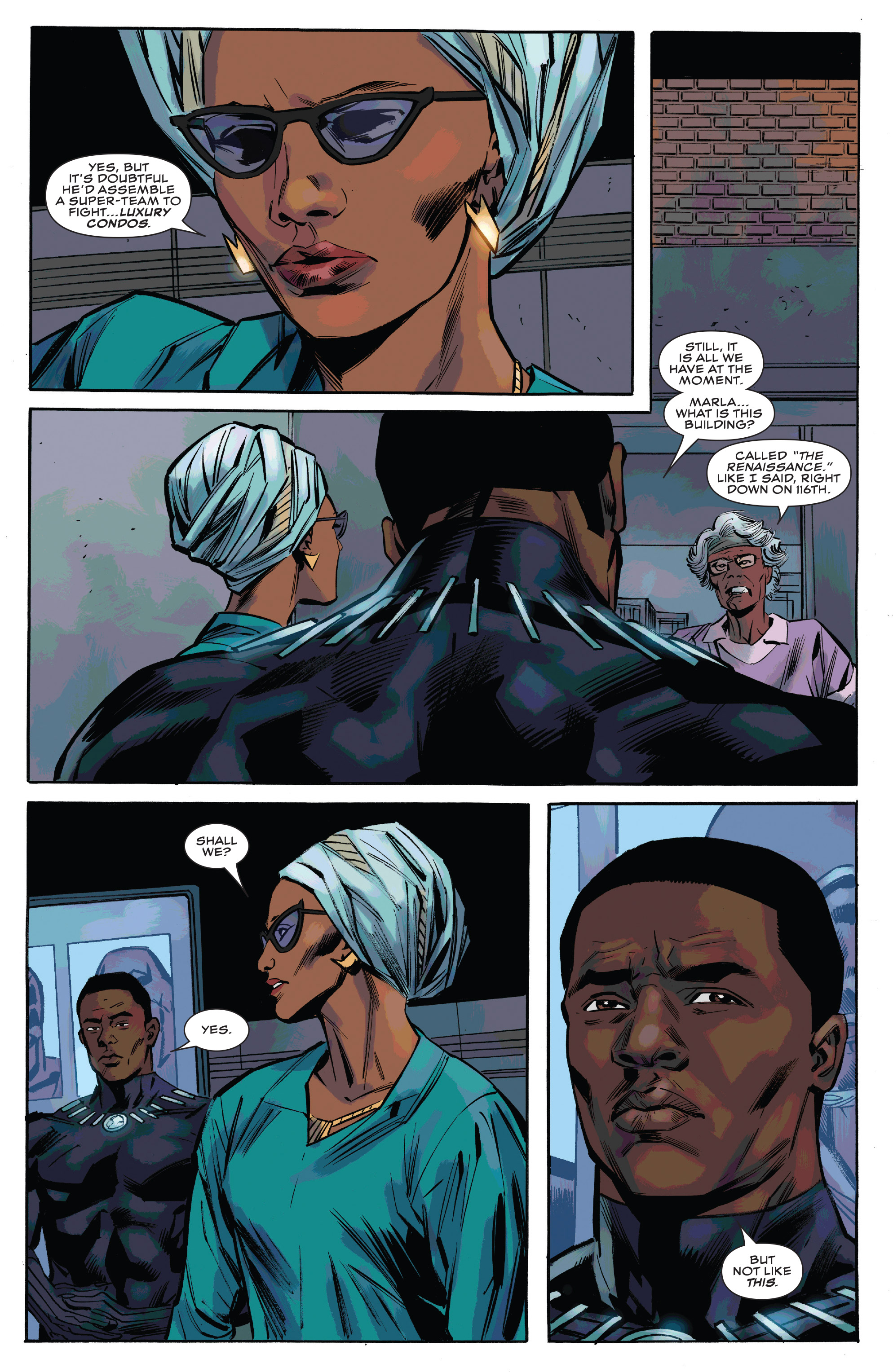 Read online Black Panther and the Crew comic -  Issue #3 - 11