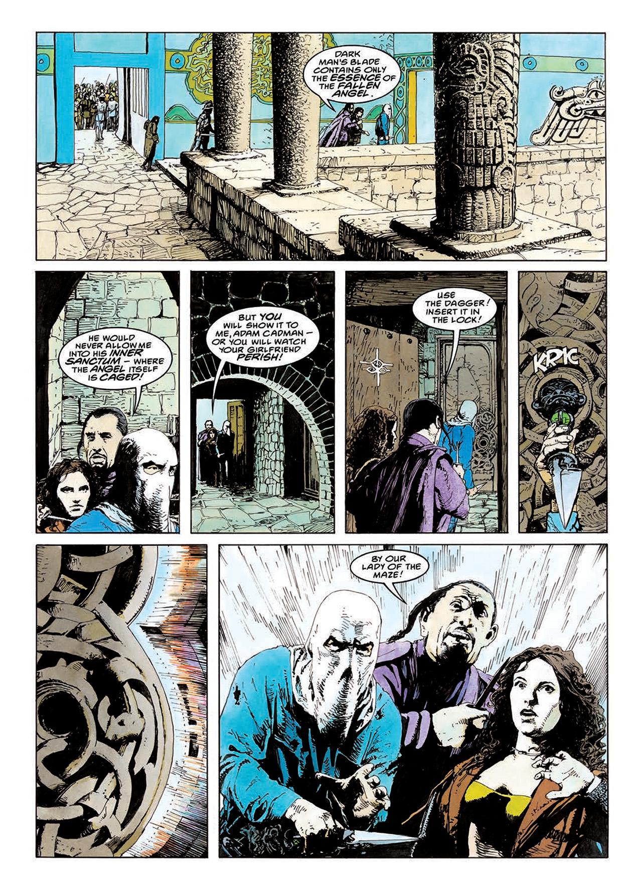 Read online Mazeworld comic -  Issue # TPB - 120