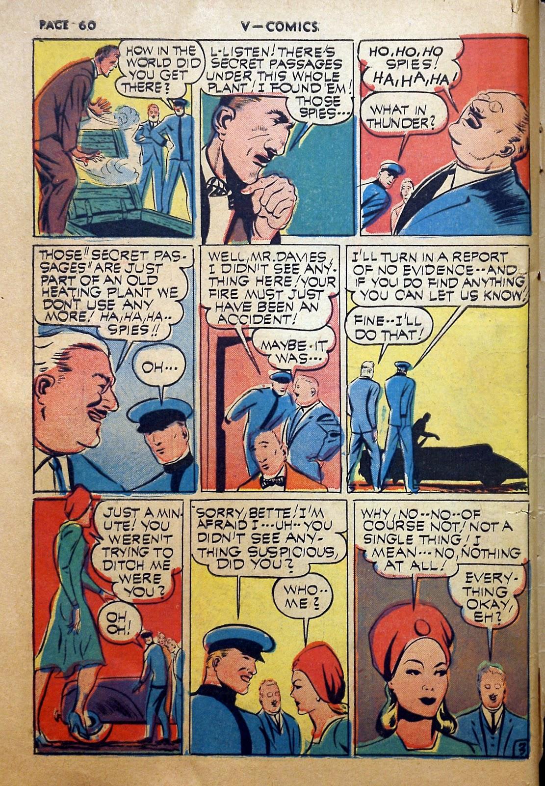 Read online V...- Comics comic -  Issue #2 - 61