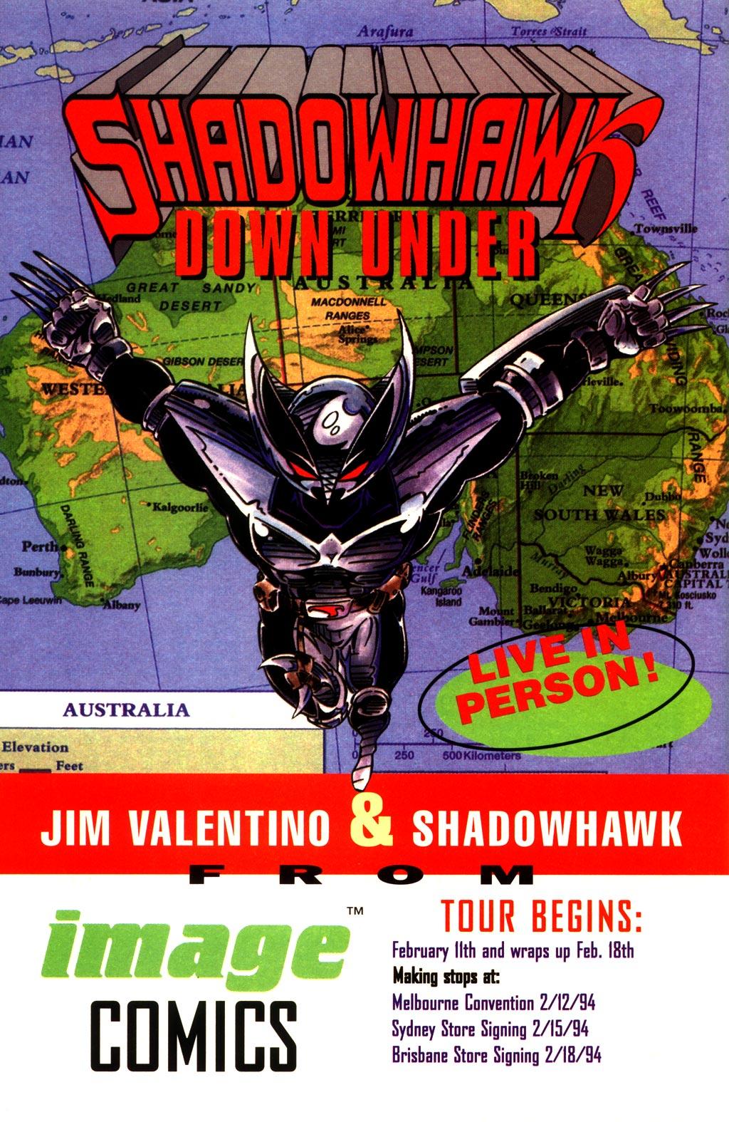 Read online ShadowHawk comic -  Issue #10 - 27