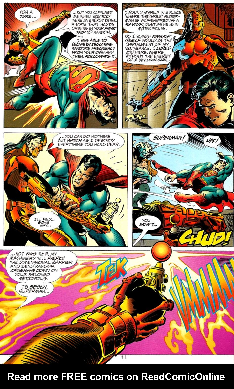 Read online Adventures of Superman (1987) comic -  Issue #563 - 12