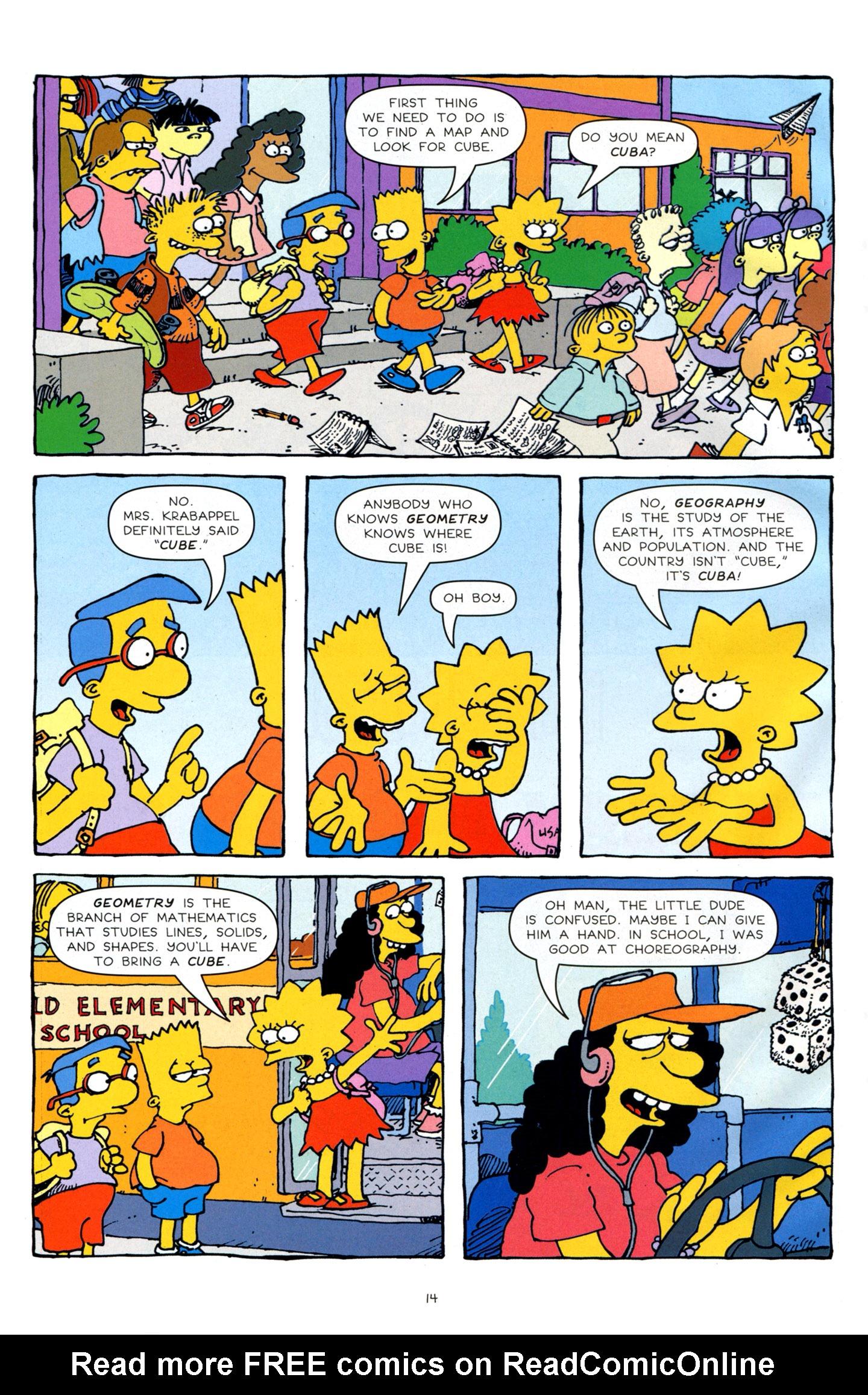 Read online Simpsons Comics Presents Bart Simpson comic -  Issue #64 - 16