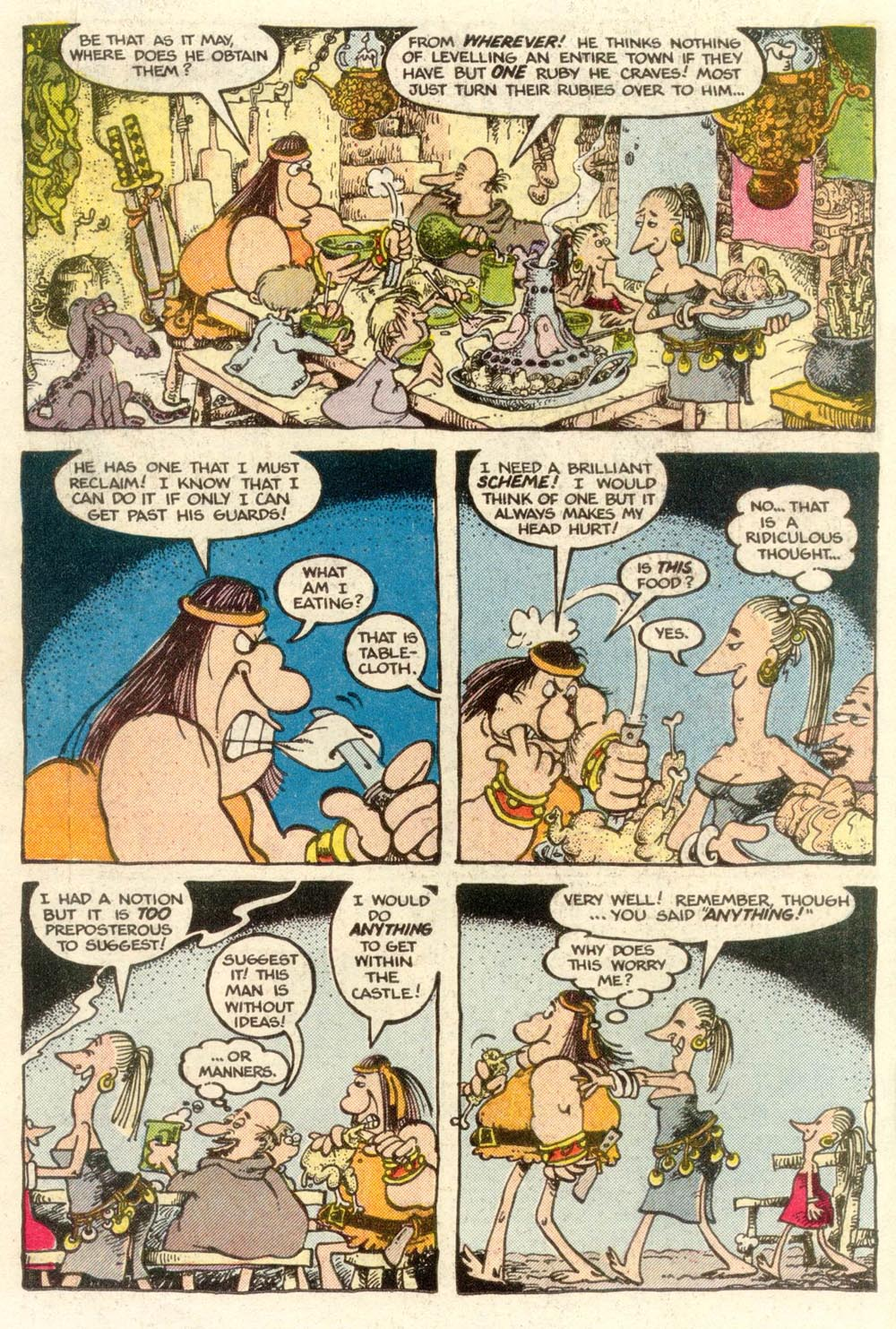 Read online Sergio Aragonés Groo the Wanderer comic -  Issue #6 - 12