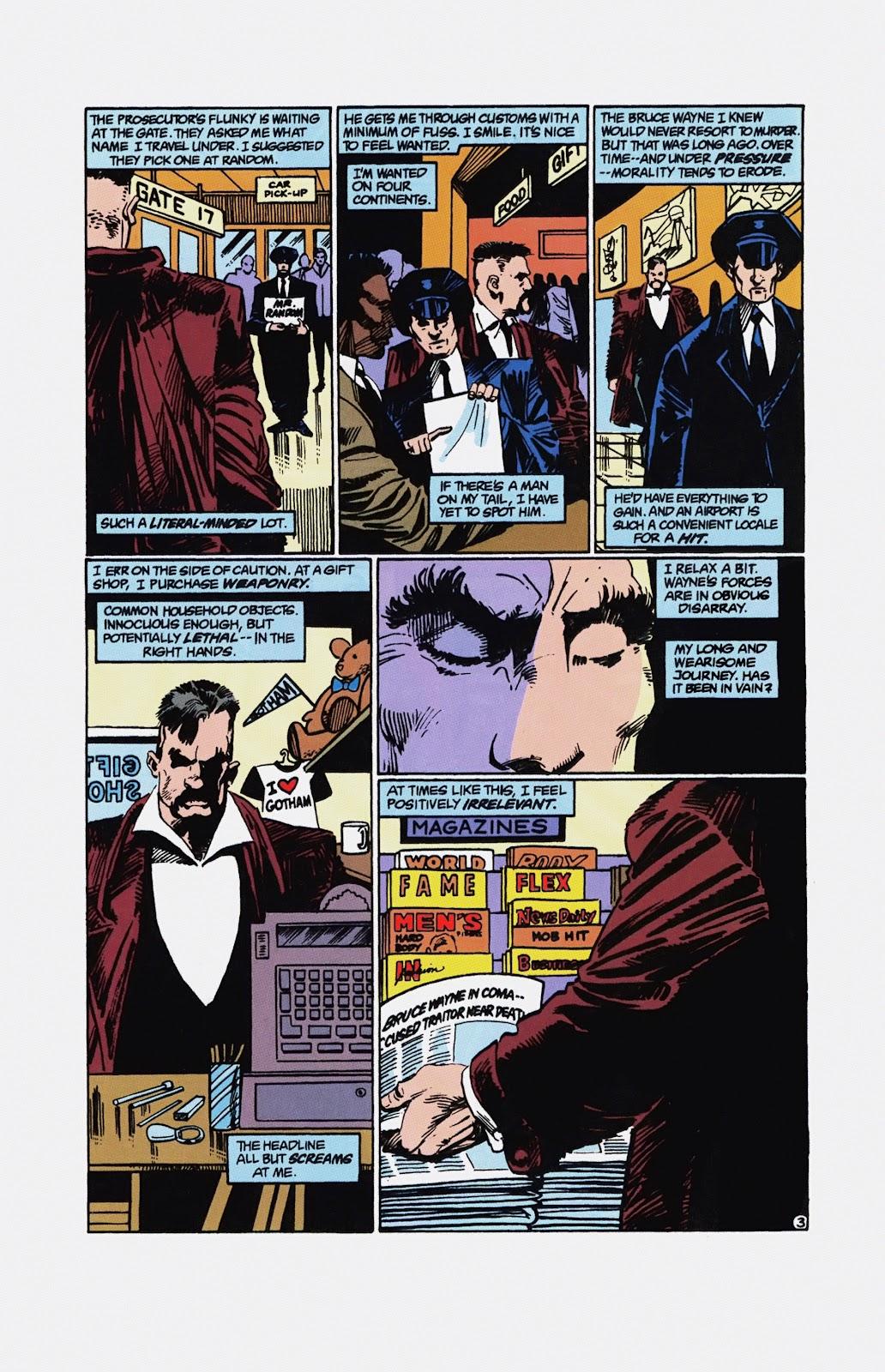 Read online Detective Comics (1937) comic -  Issue # _TPB Batman - Blind Justice (Part 1) - 90