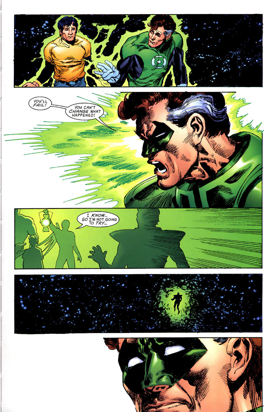 Read online Green Lantern: Legacy: The Last Will and Testament of Hal Jordan comic -  Issue # TPB - 102
