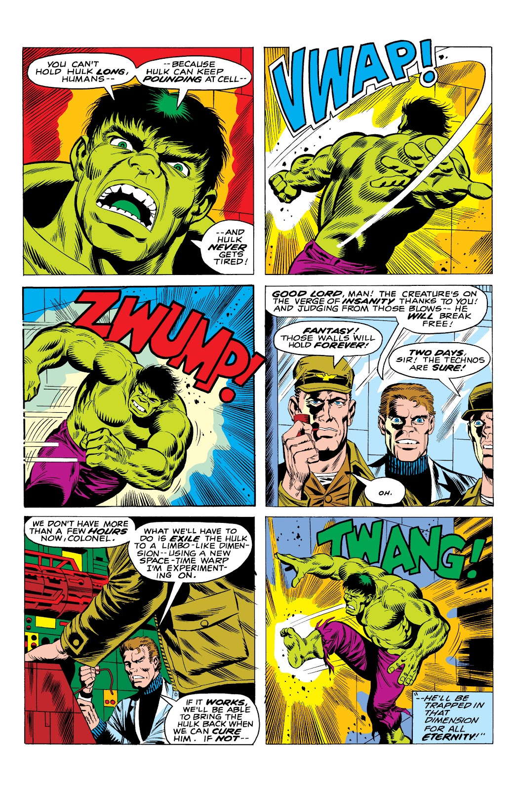 Read online Marvel Masterworks: The Incredible Hulk comic -  Issue # TPB 10 (Part 1) - 33
