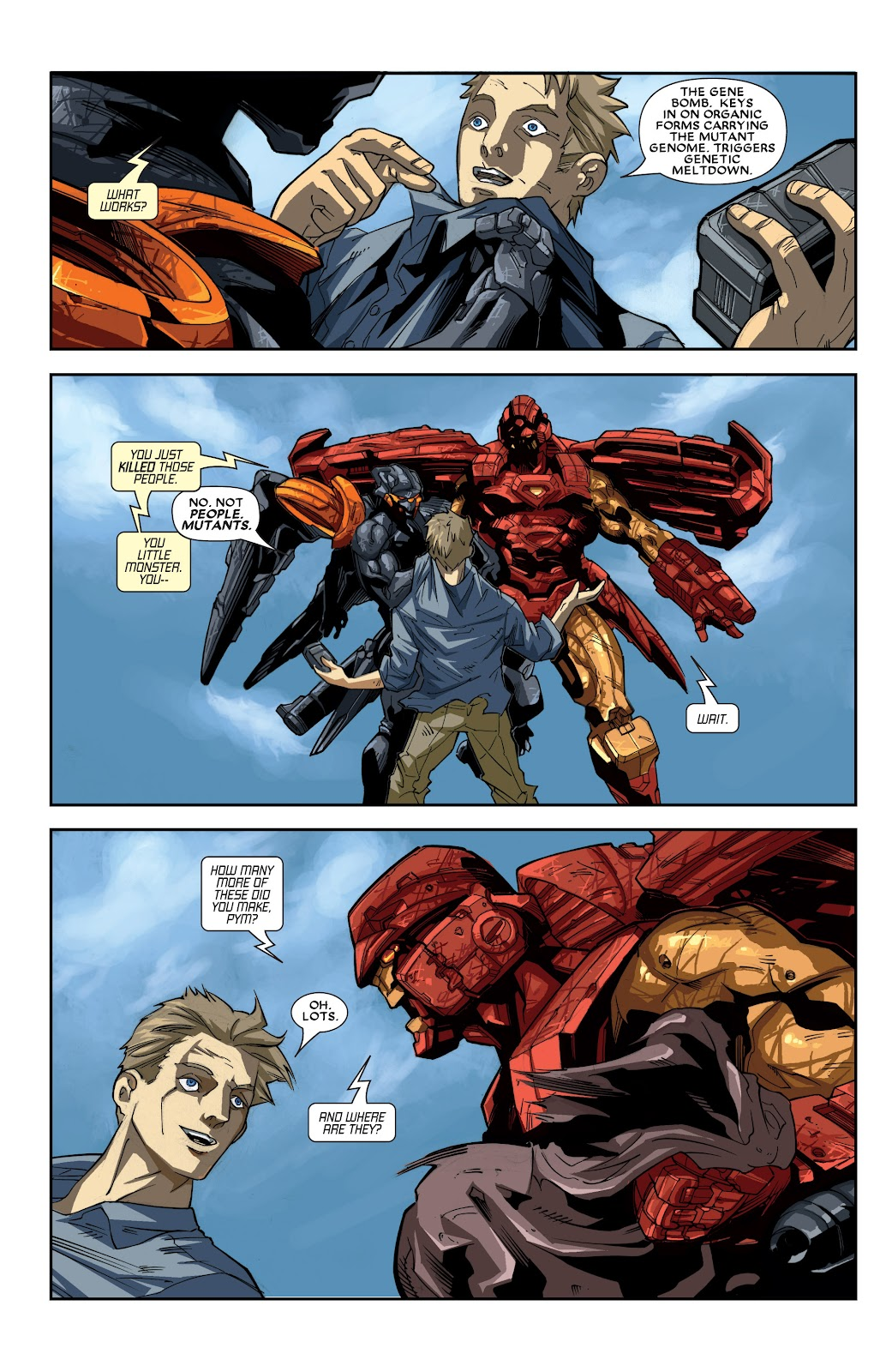 Iron Man: House of M Issue #2 #2 - English 23
