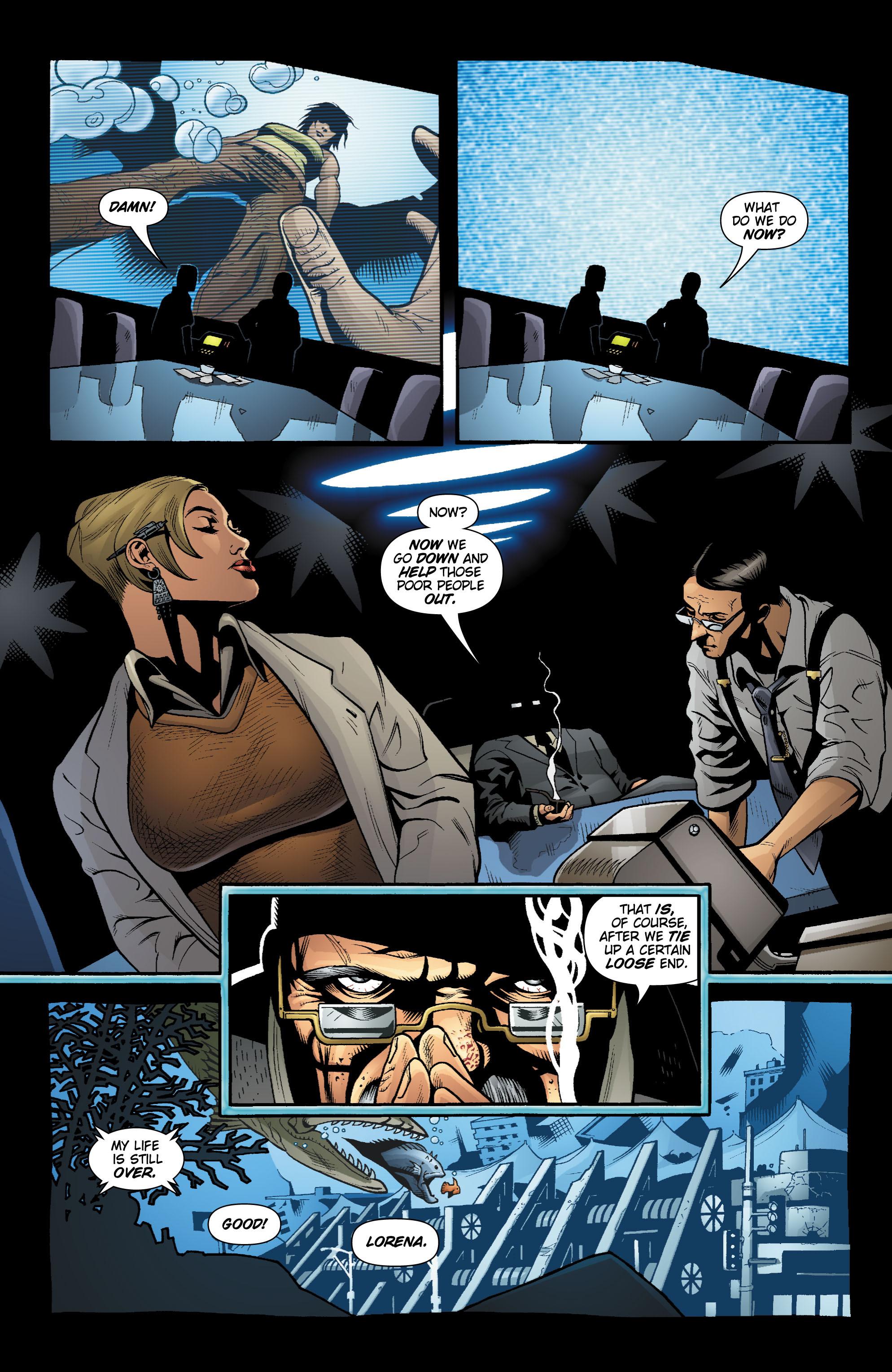 Read online Aquaman (2003) comic -  Issue #20 - 11