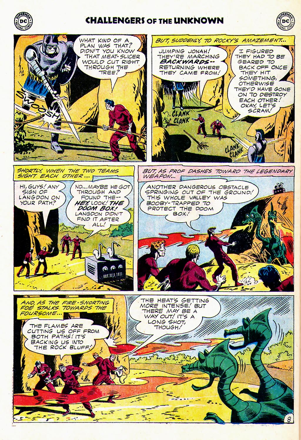 Challengers of the Unknown (1958) issue 23 - Page 10