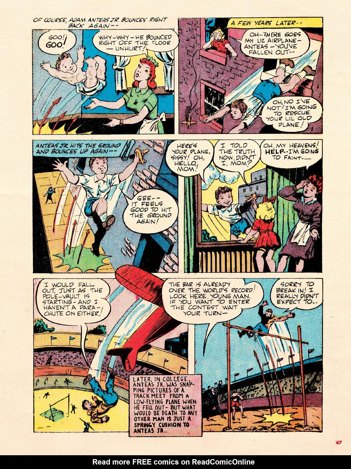 Read online Super Weird Heroes comic -  Issue # TPB 2 (Part 1) - 47