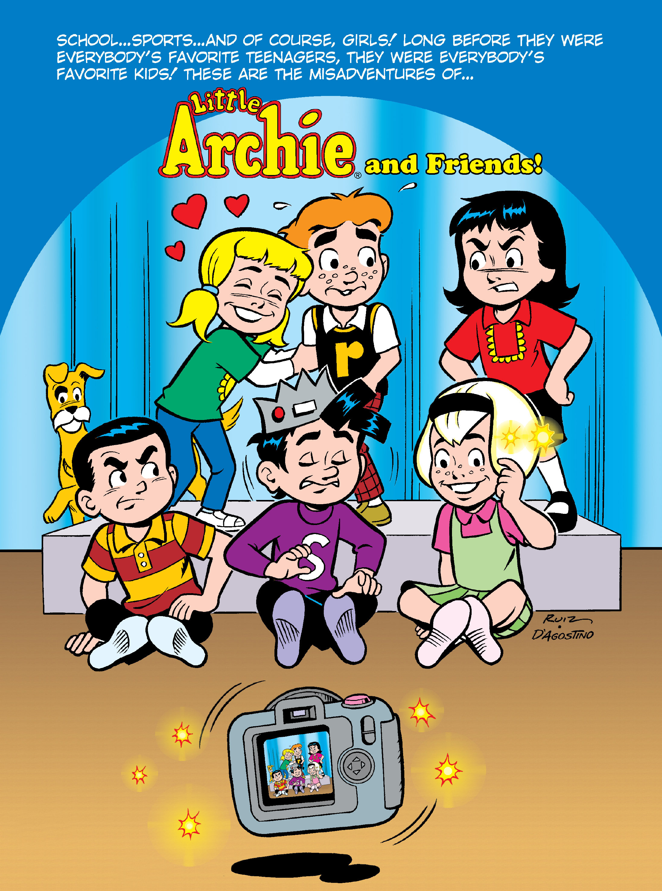 Read online Archie's Funhouse Double Digest comic -  Issue #17 - 126