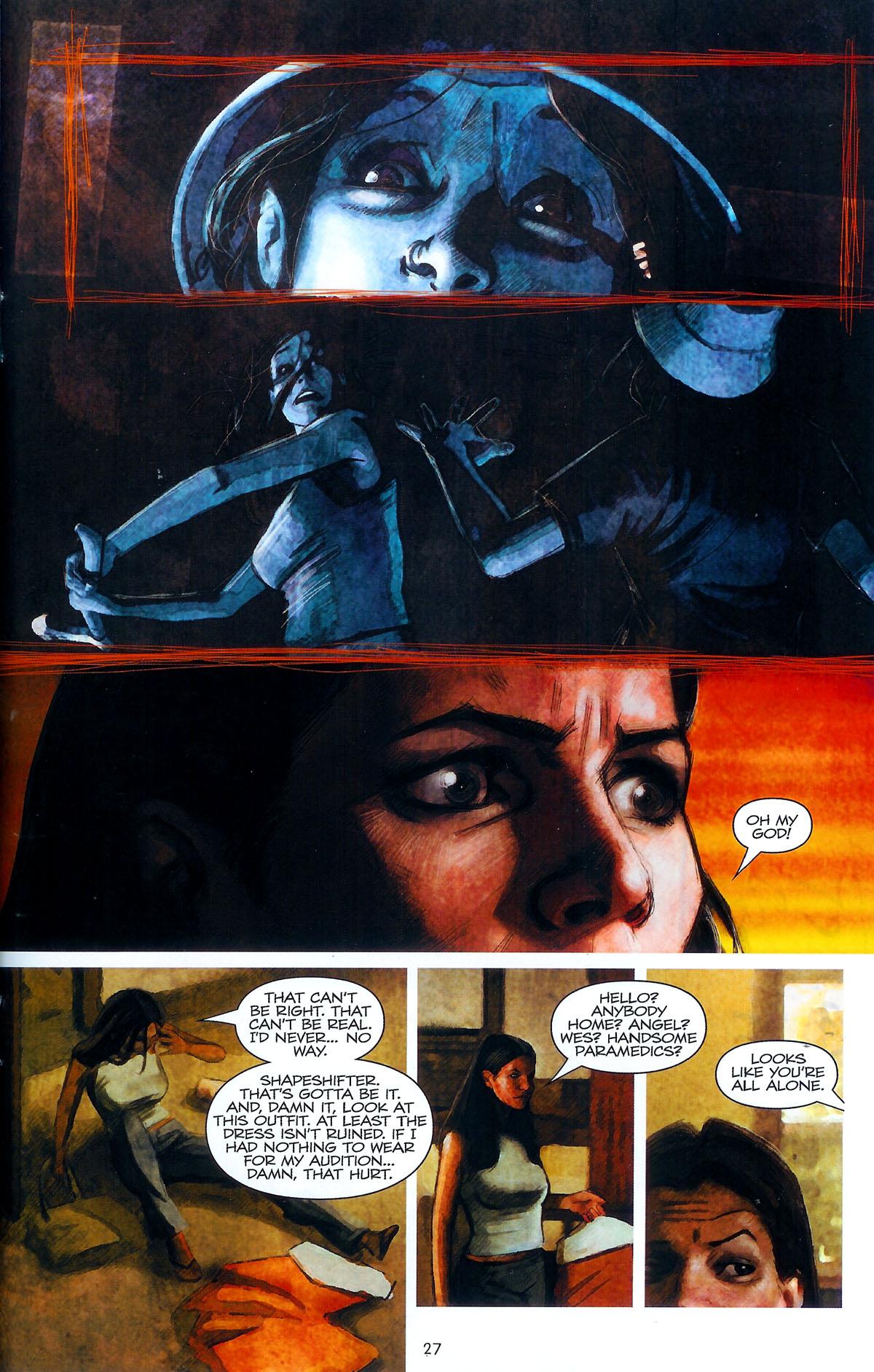 Read online Angel: Masks comic -  Issue # Full - 29