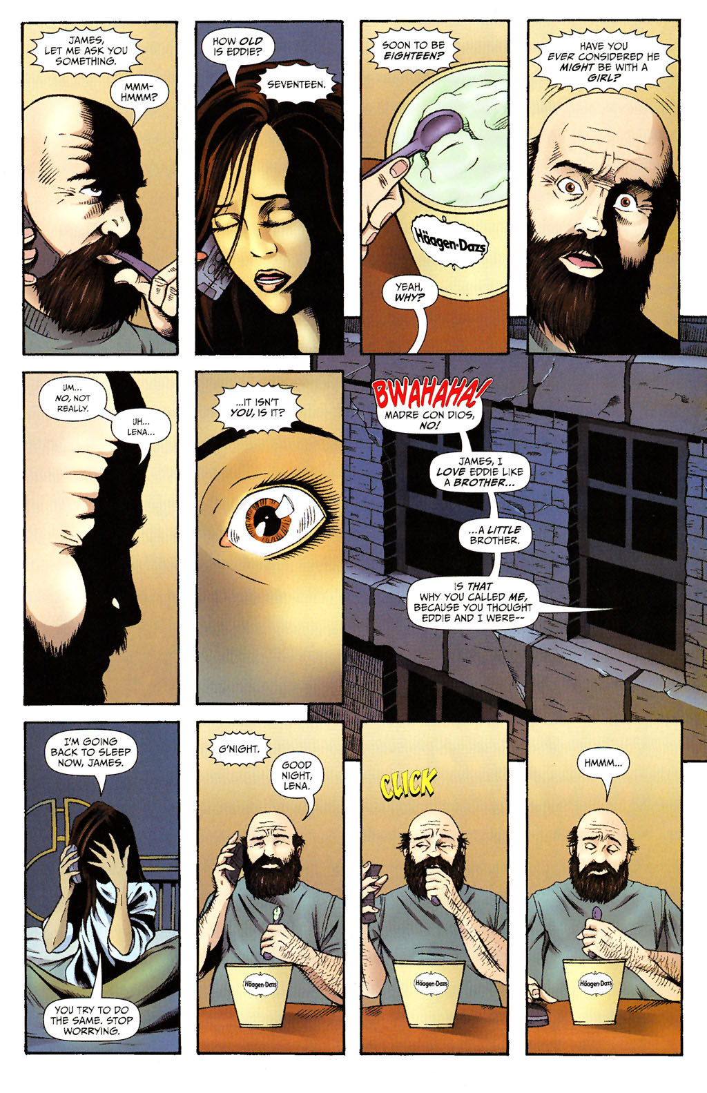 Read online ShadowHawk (2005) comic -  Issue #15 - 22
