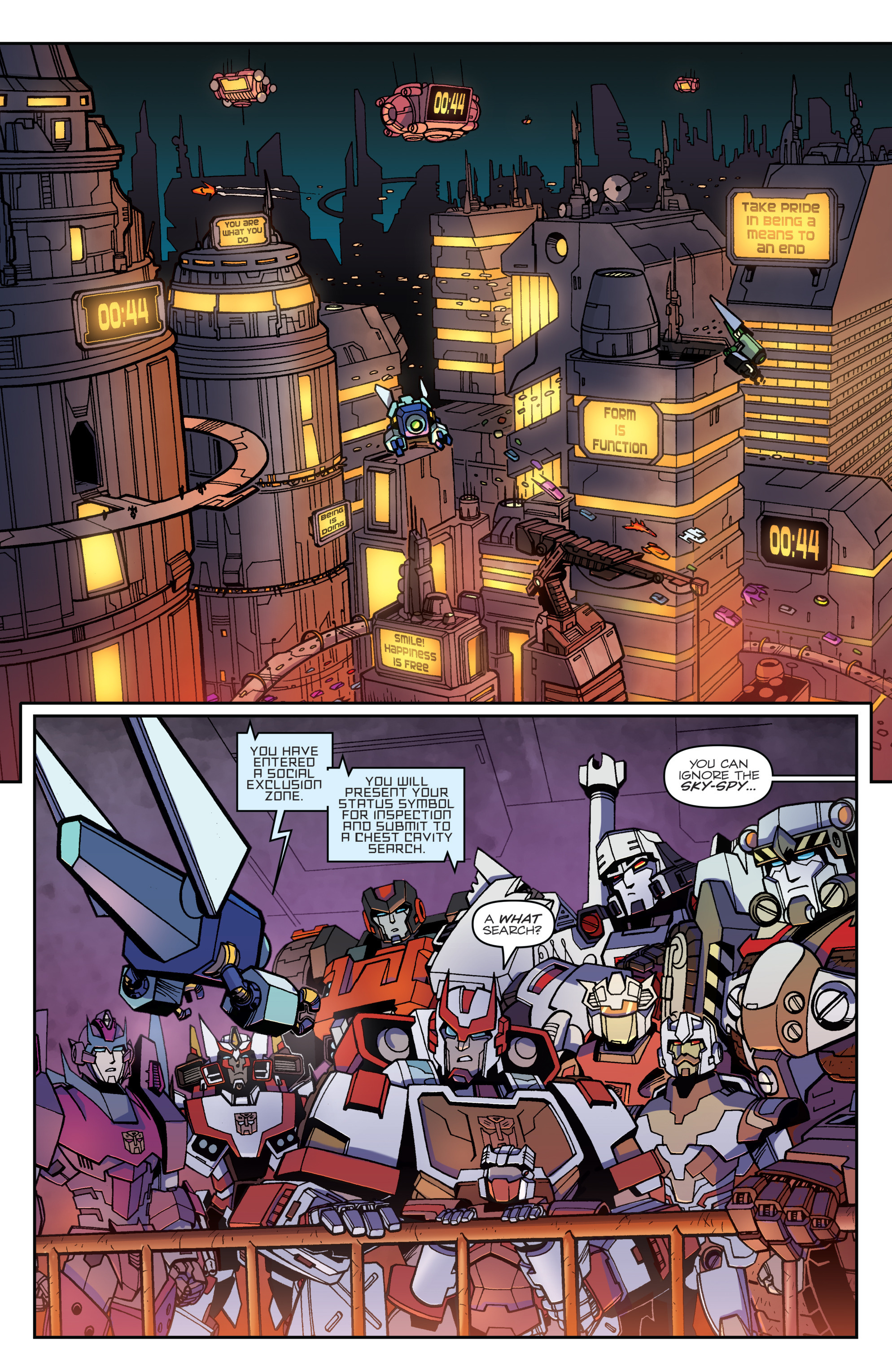 Read online Transformers: Lost Light comic -  Issue #1 - 22