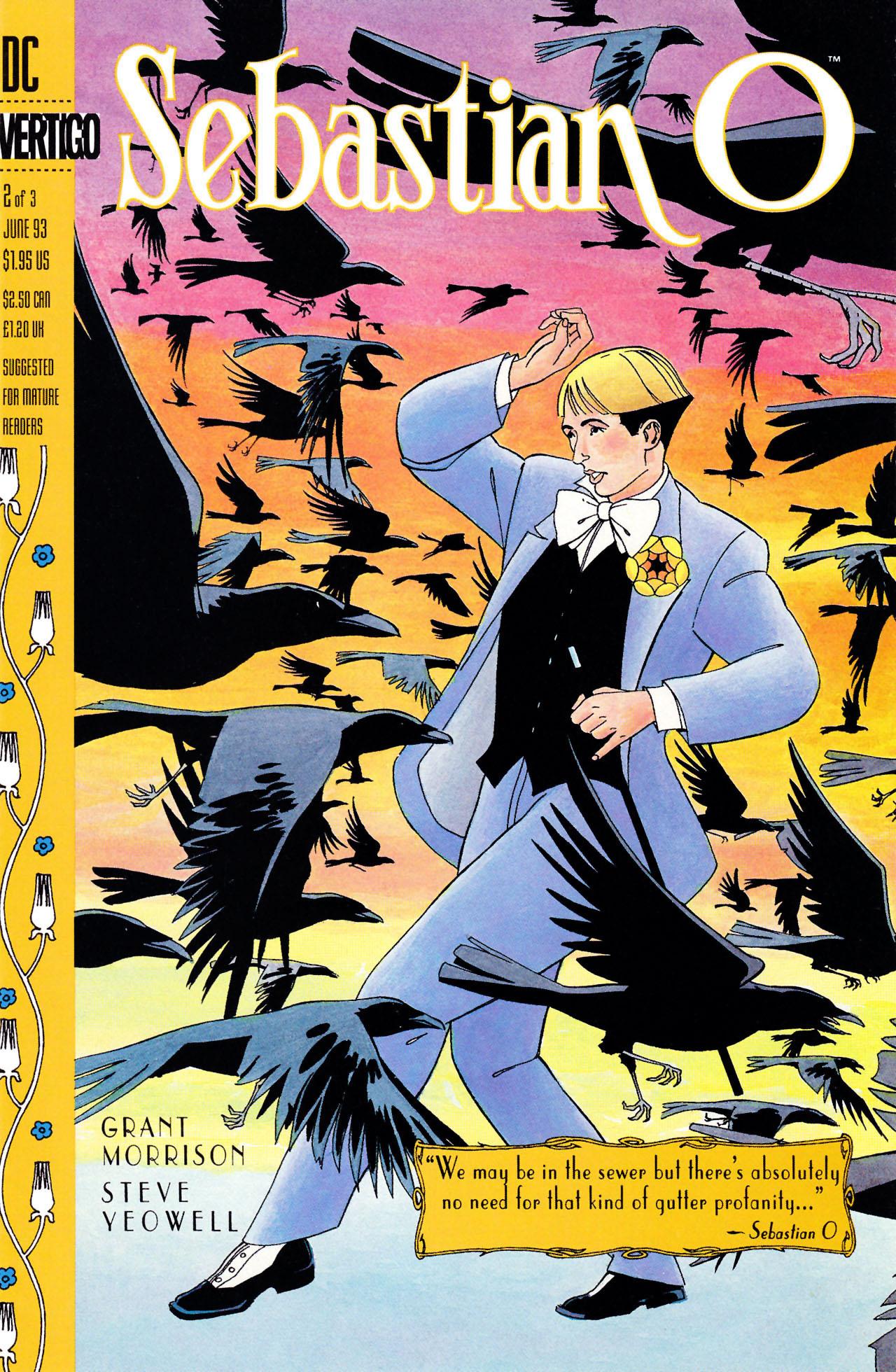 Read online Sebastian O comic -  Issue #2 - 1