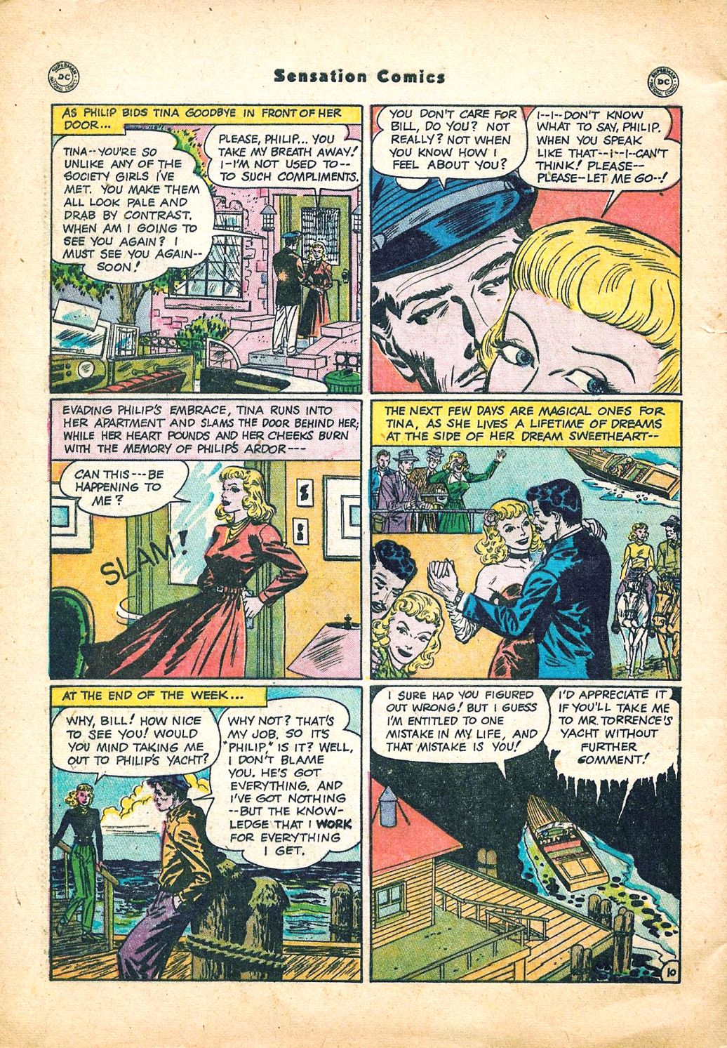 Read online Sensation (Mystery) Comics comic -  Issue #95 - 46