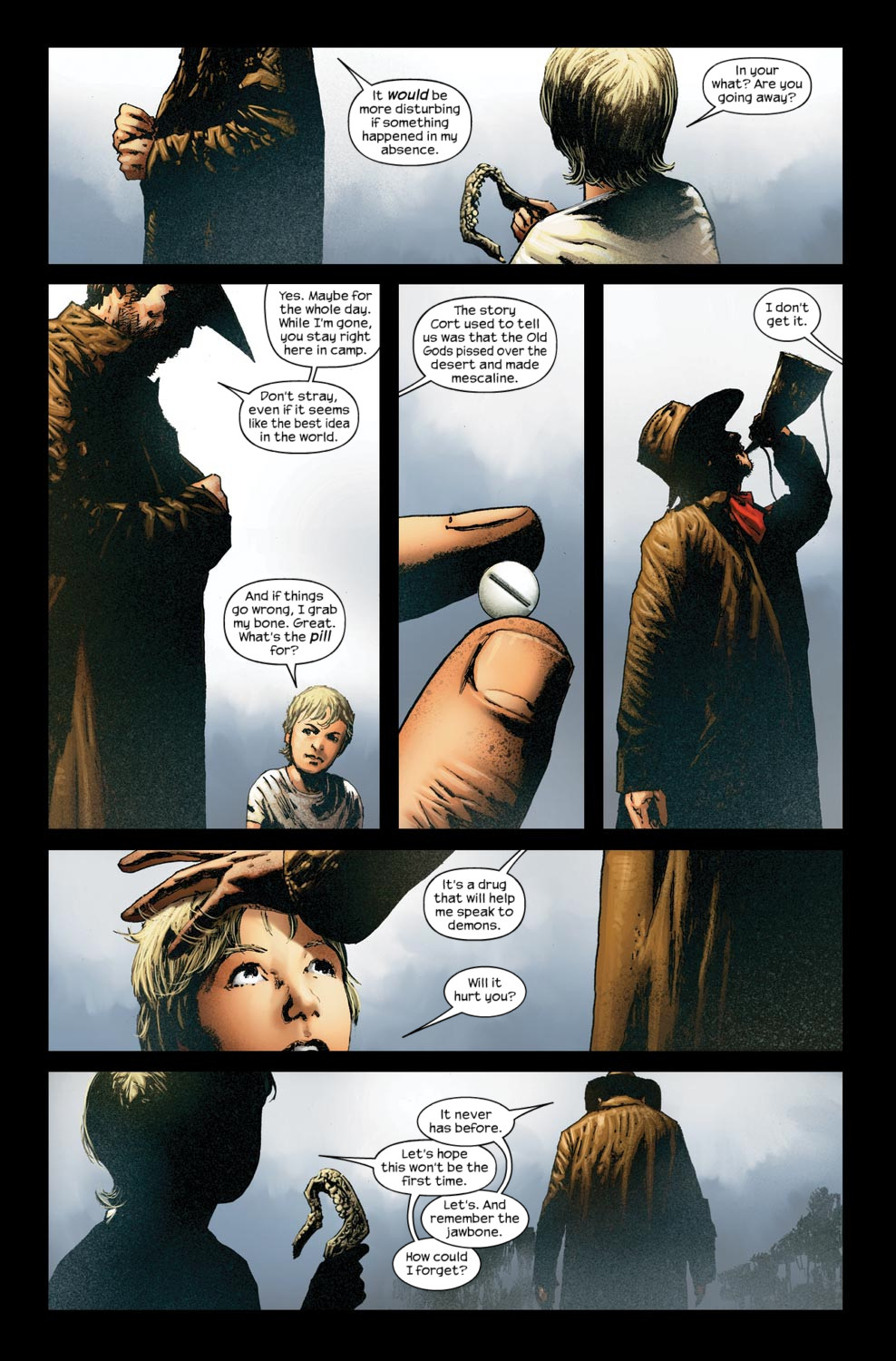 Read online Dark Tower: The Gunslinger - The Way Station comic -  Issue #5 - 9