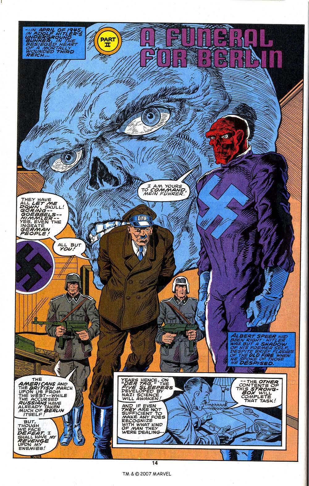 Read online Captain America (1968) comic -  Issue # _Annual 13 - 16
