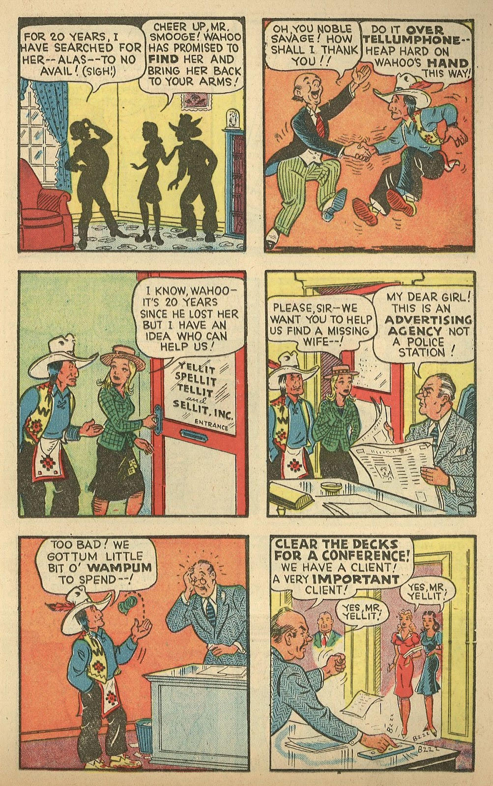 Read online Famous Funnies comic -  Issue #148 - 19