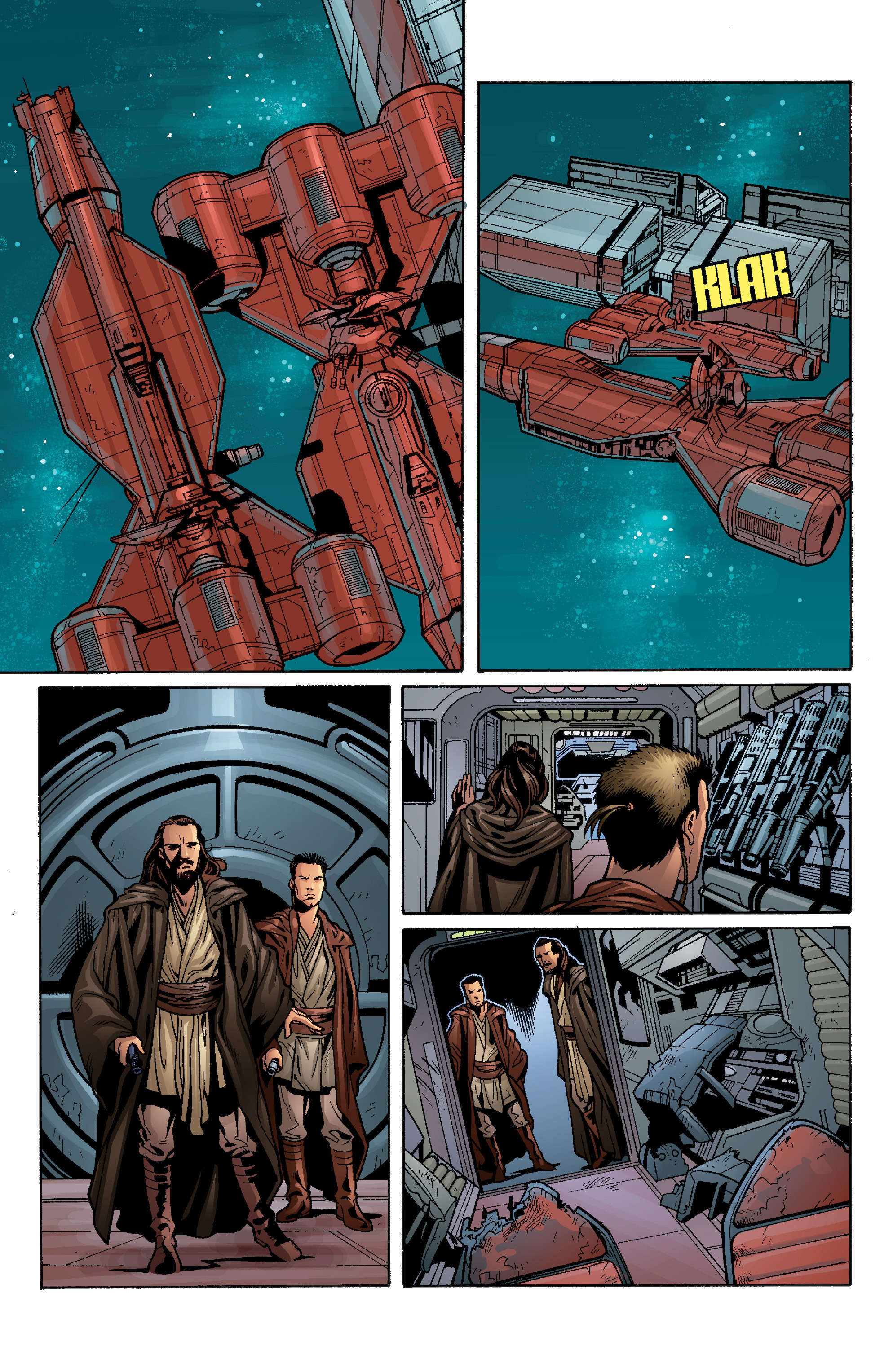 Read online Star Wars: Qui-Gon & Obi-Wan - Last Stand on Ord Mantell comic -  Issue #1 - 14