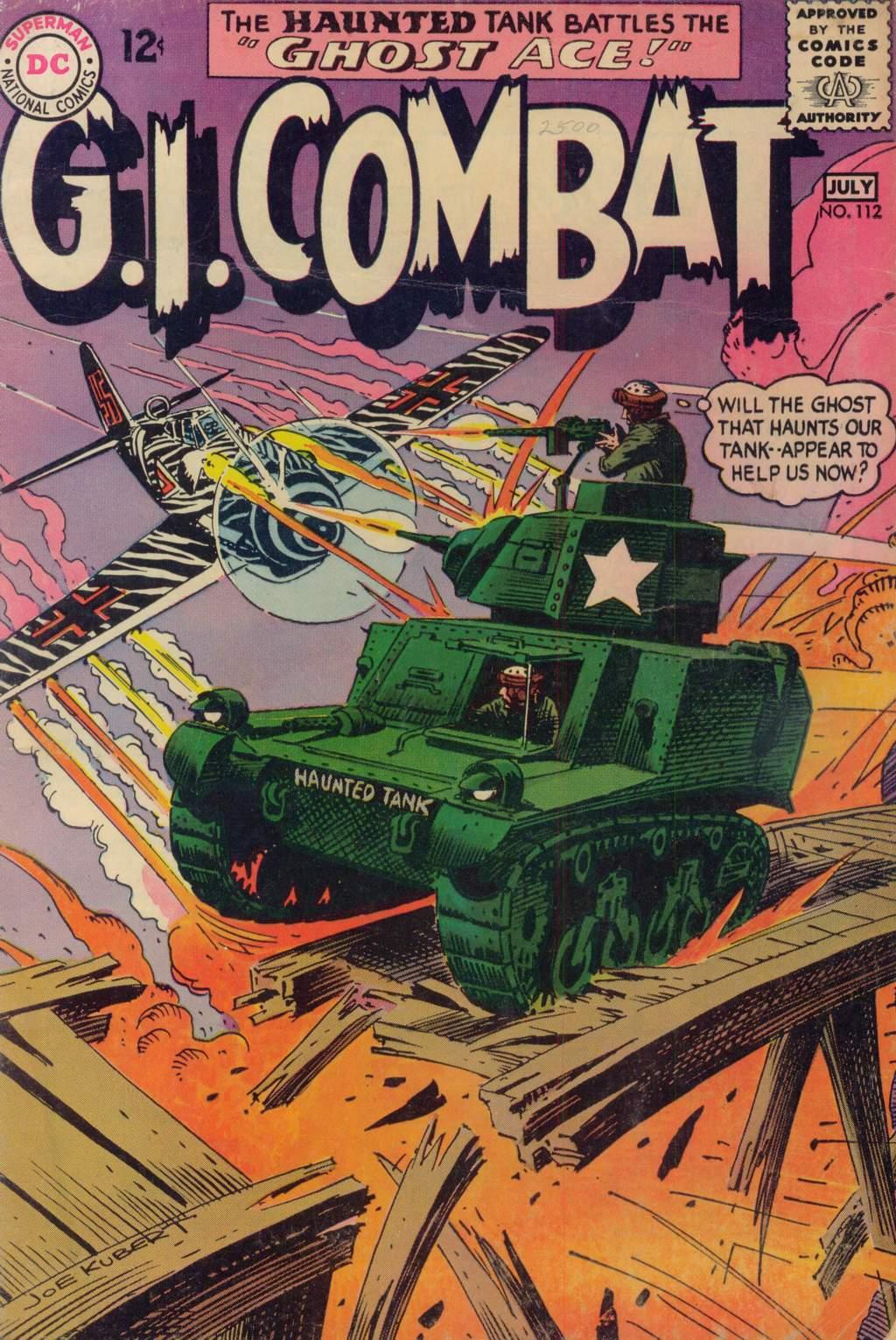 G.I. Combat (1952) 112 Page 1