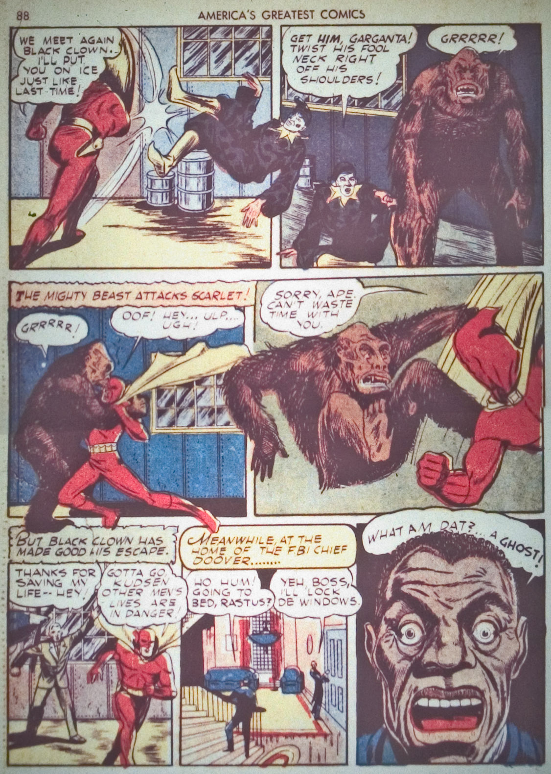 Read online America's Greatest Comics comic -  Issue #1 - 91