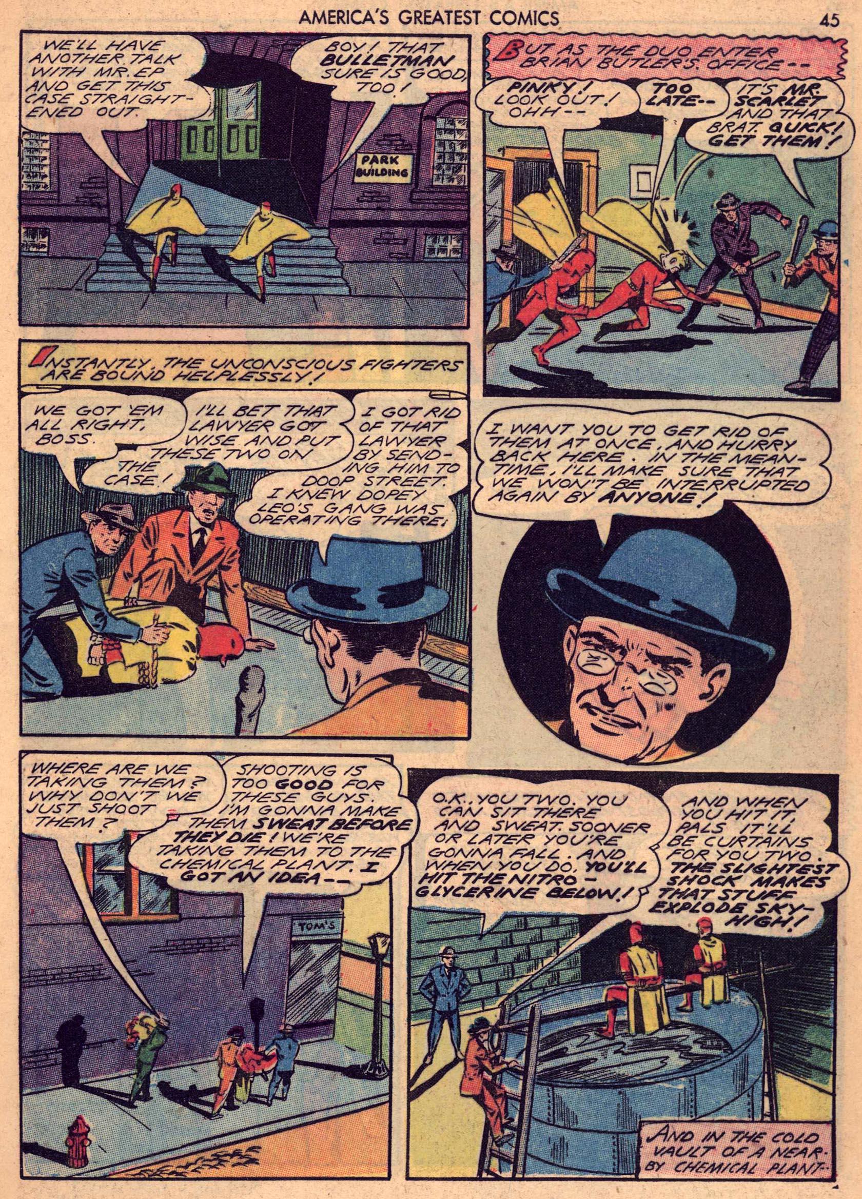 Read online America's Greatest Comics comic -  Issue #7 - 44
