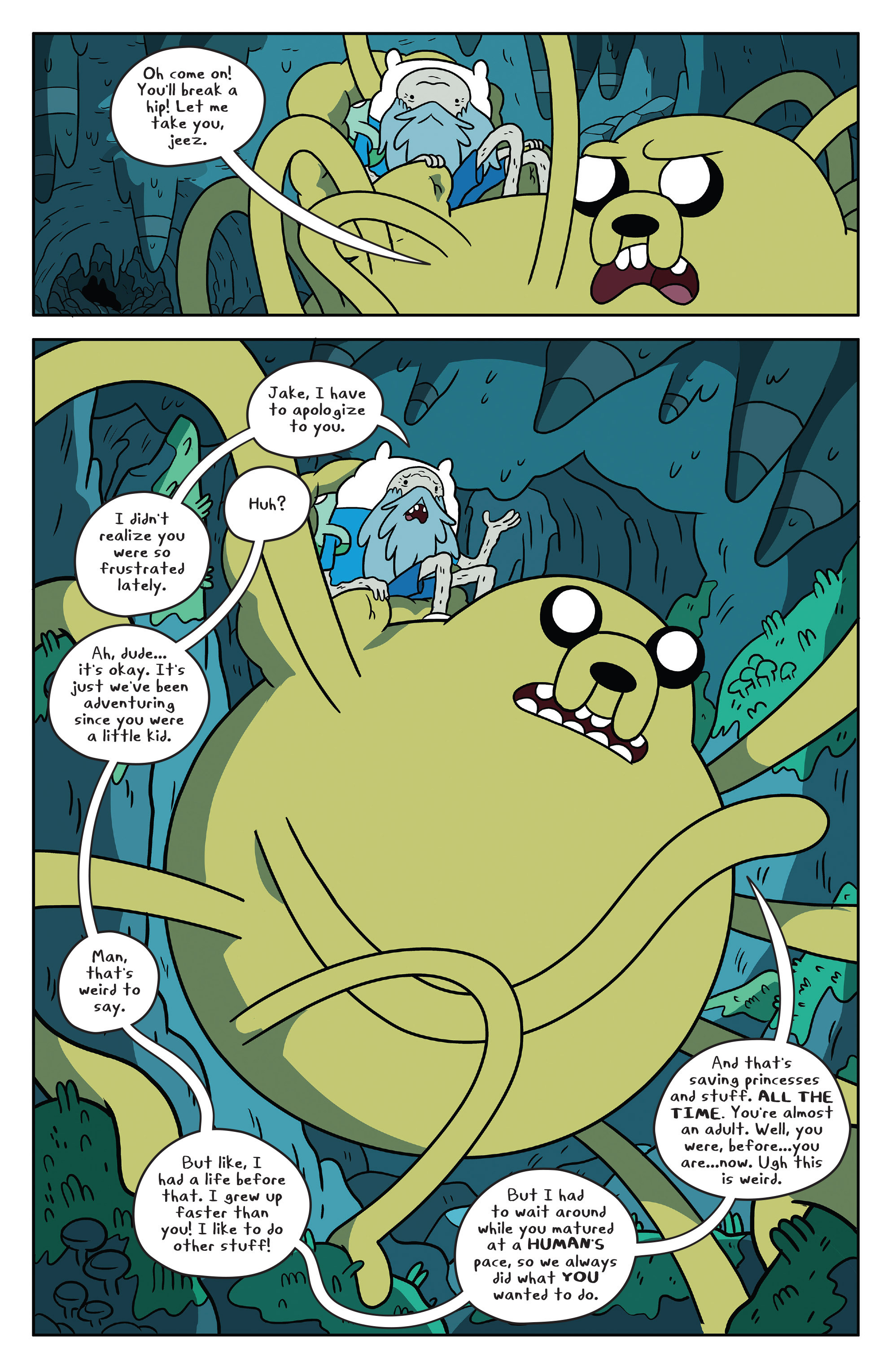Read online Adventure Time comic -  Issue #51 - 17