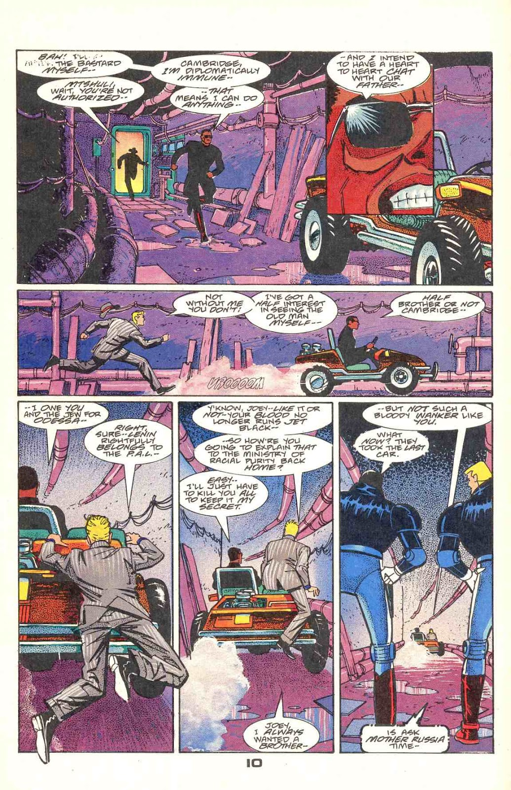 Howard Chaykin's American Flagg issue 12 - Page 12