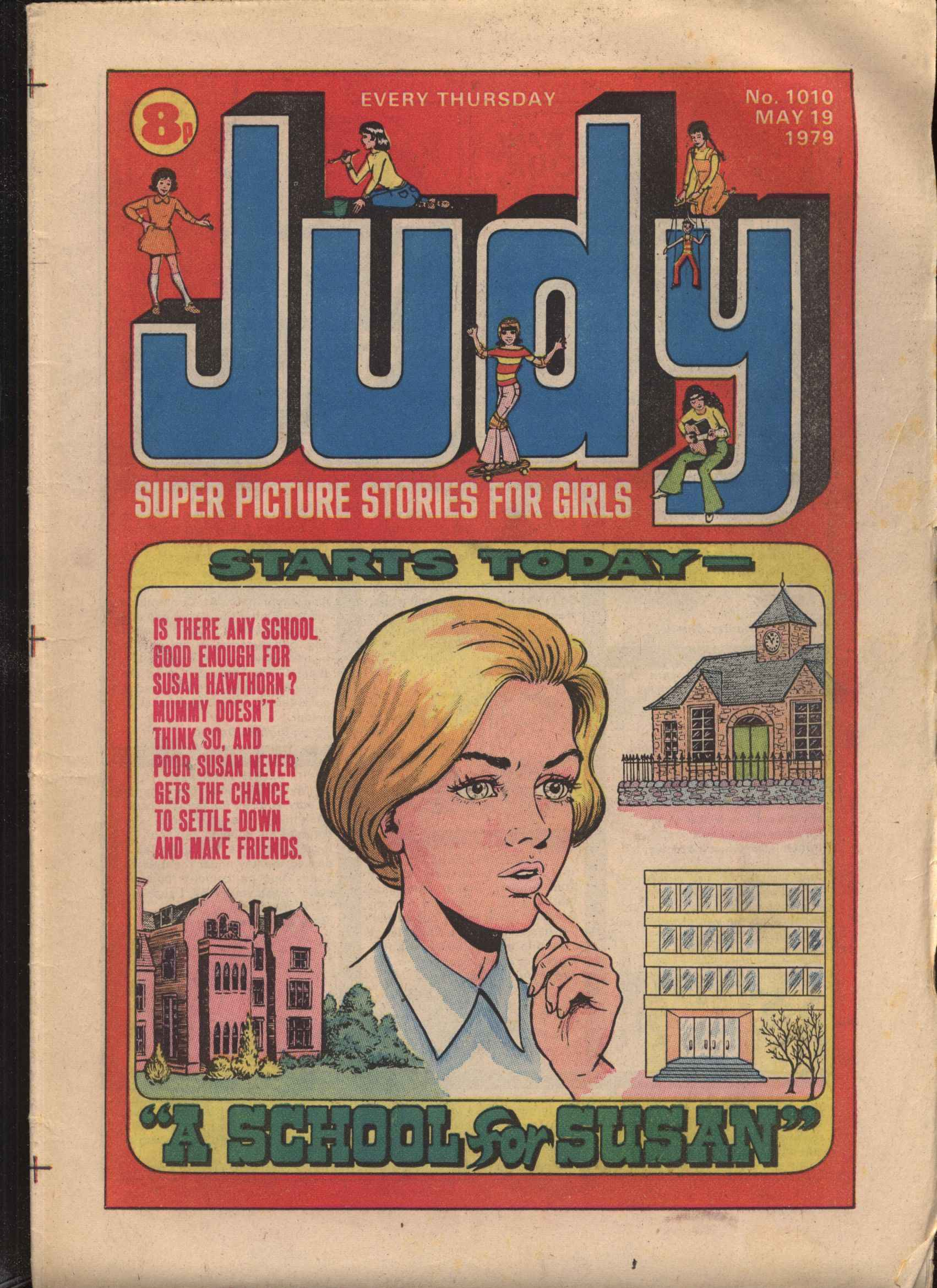 Read online Judy comic -  Issue #1010 - 1