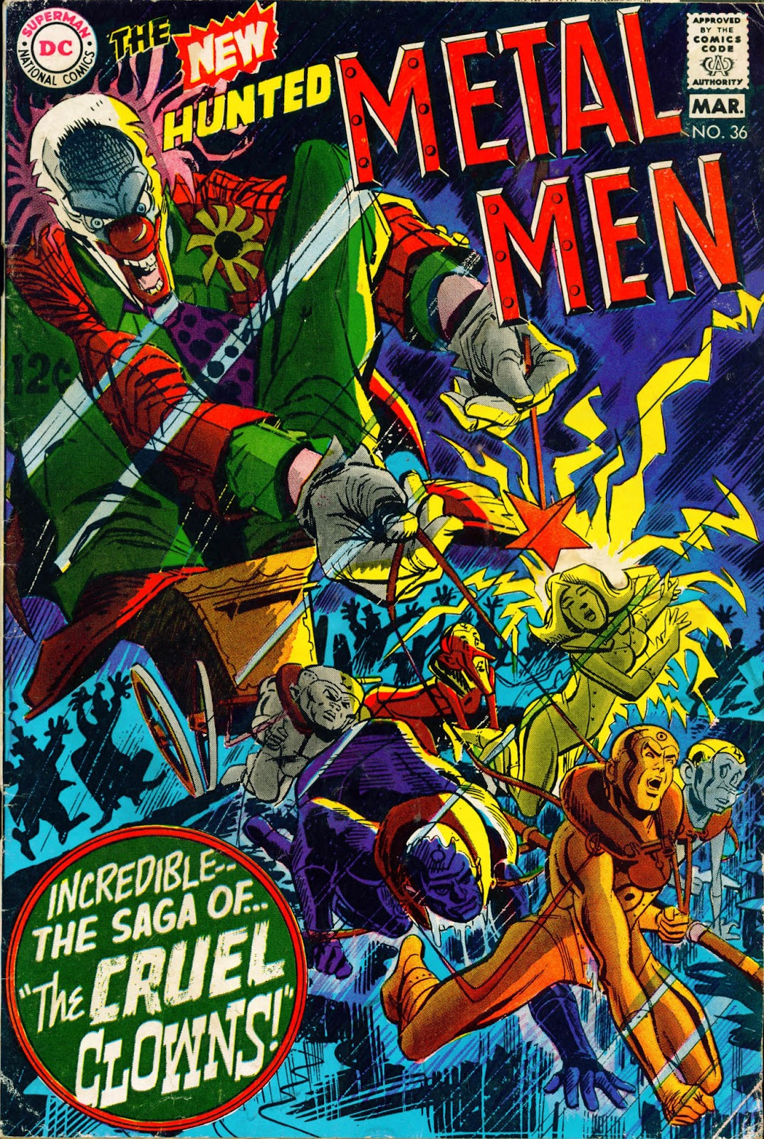 Metal Men (1963) issue 36 - Page 1