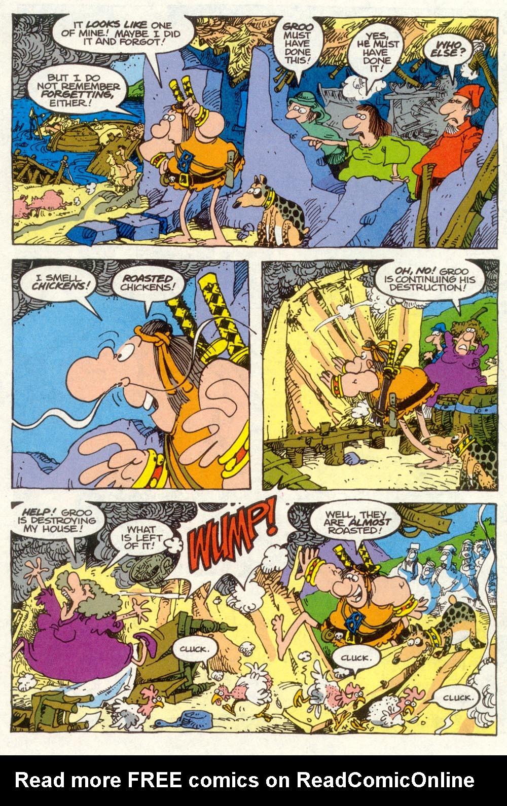 Read online Sergio Aragonés Groo the Wanderer comic -  Issue #90 - 5