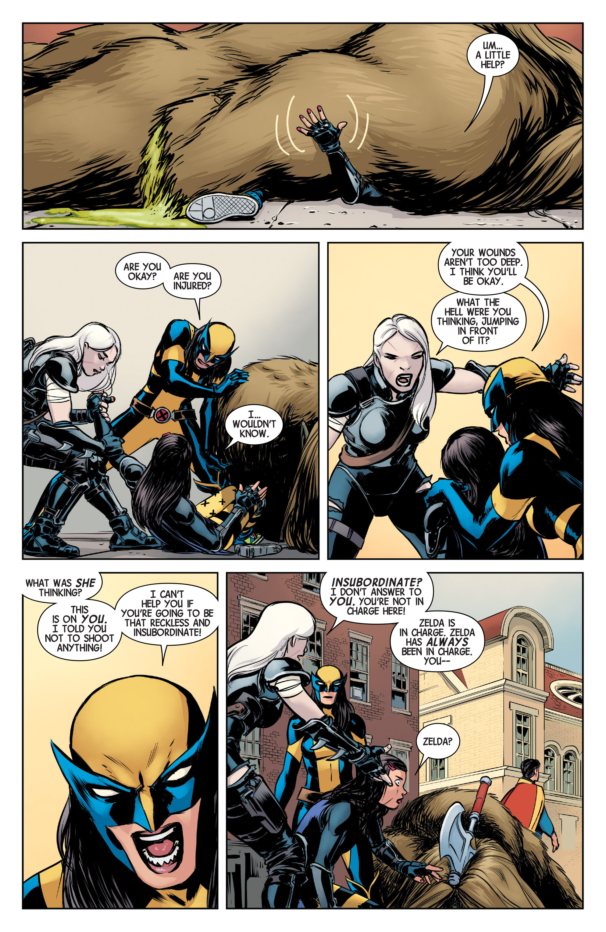 Read online All-New Wolverine (2016) comic -  Issue #4 - 15
