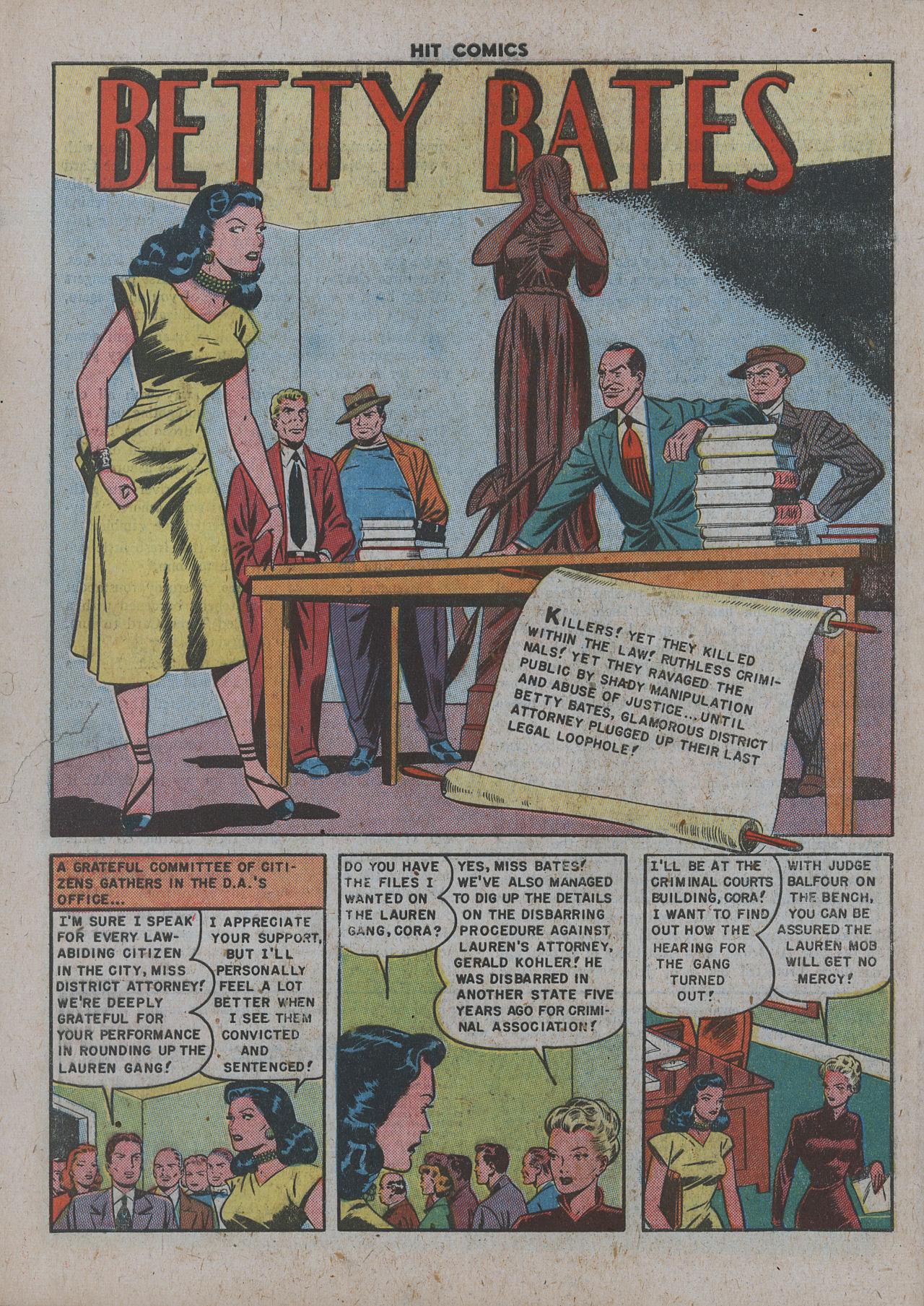 Read online Hit Comics comic -  Issue #63 - 28