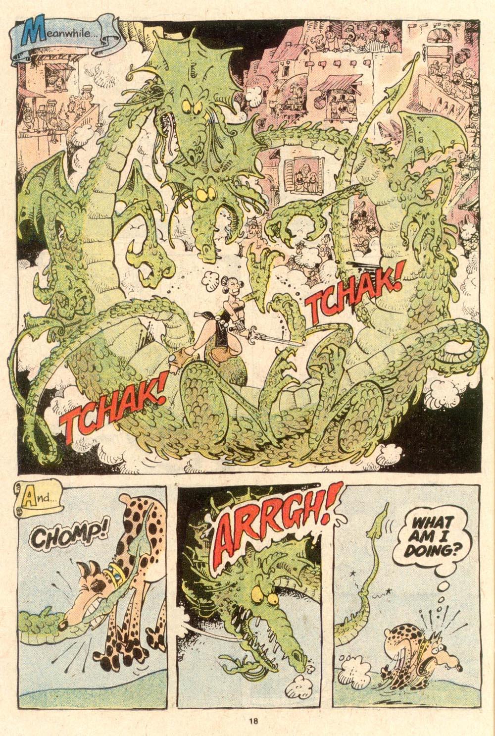 Read online Sergio Aragonés Groo the Wanderer comic -  Issue #53 - 20