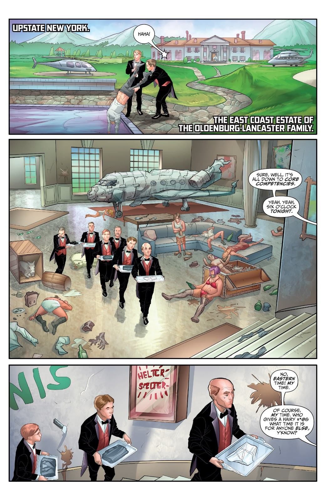 Archer and Armstrong: The One Percent Full Page 3