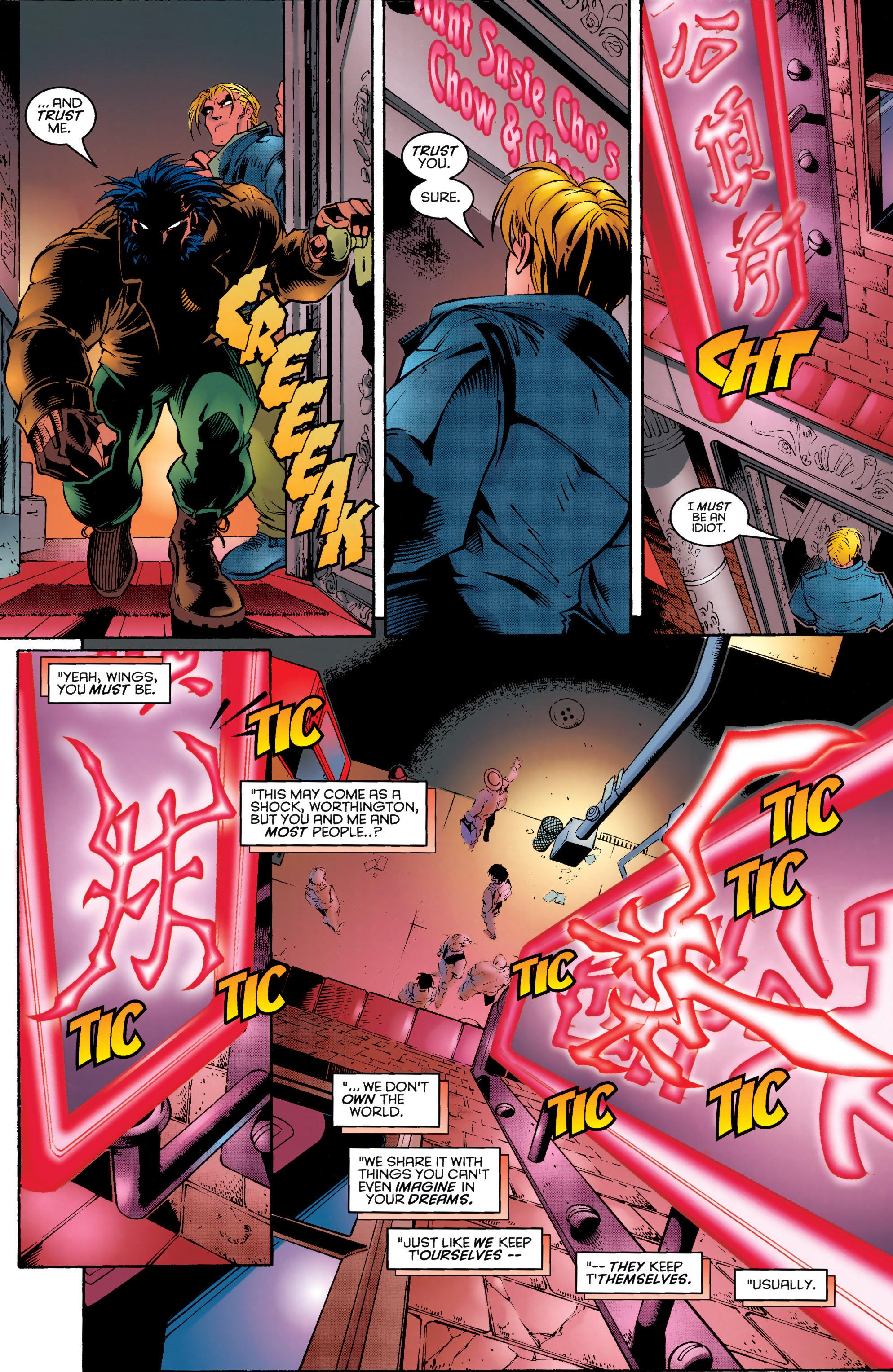 Read online Uncanny X-Men (1963) comic -  Issue #329 - 6