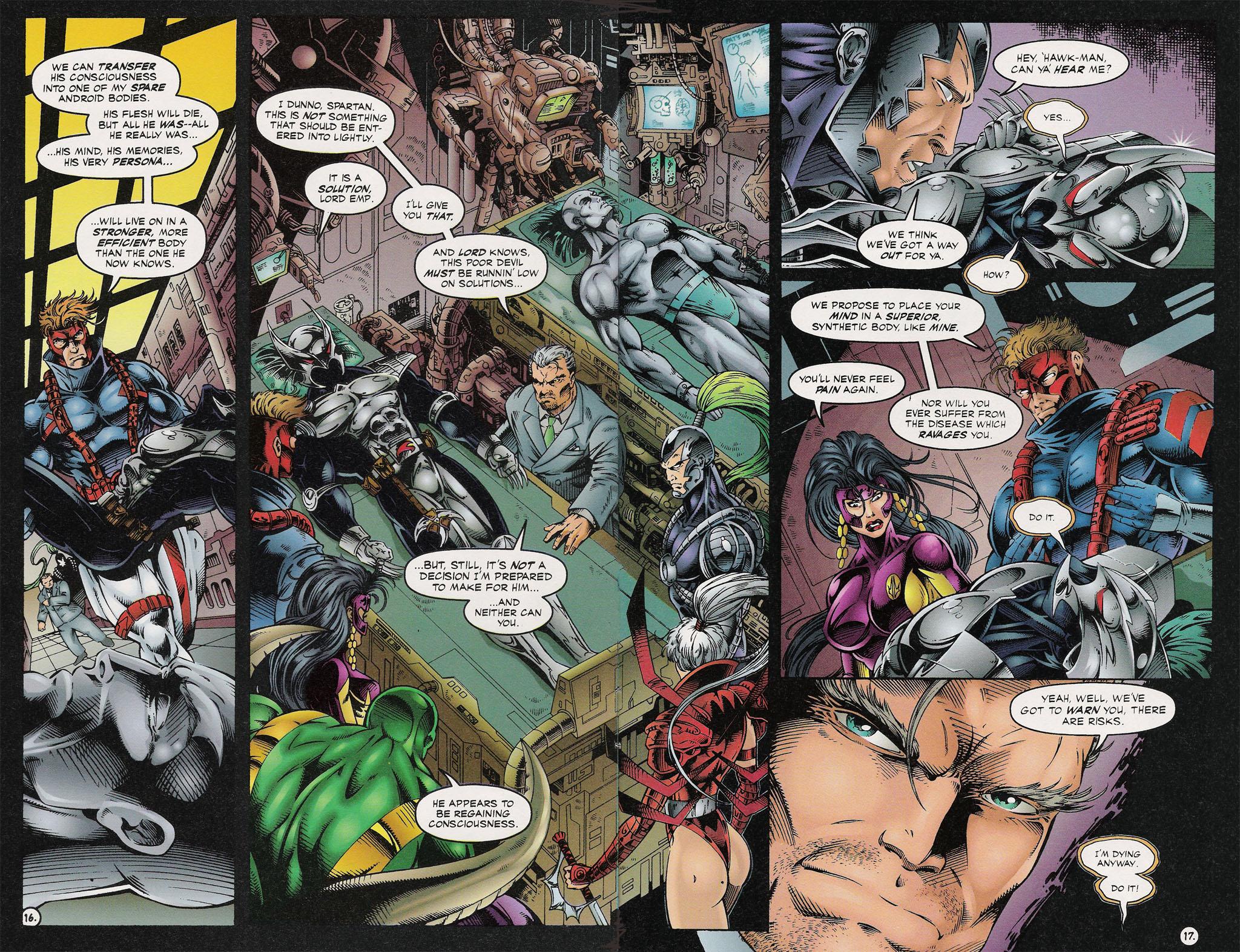 Read online ShadowHawk comic -  Issue #13 - 15