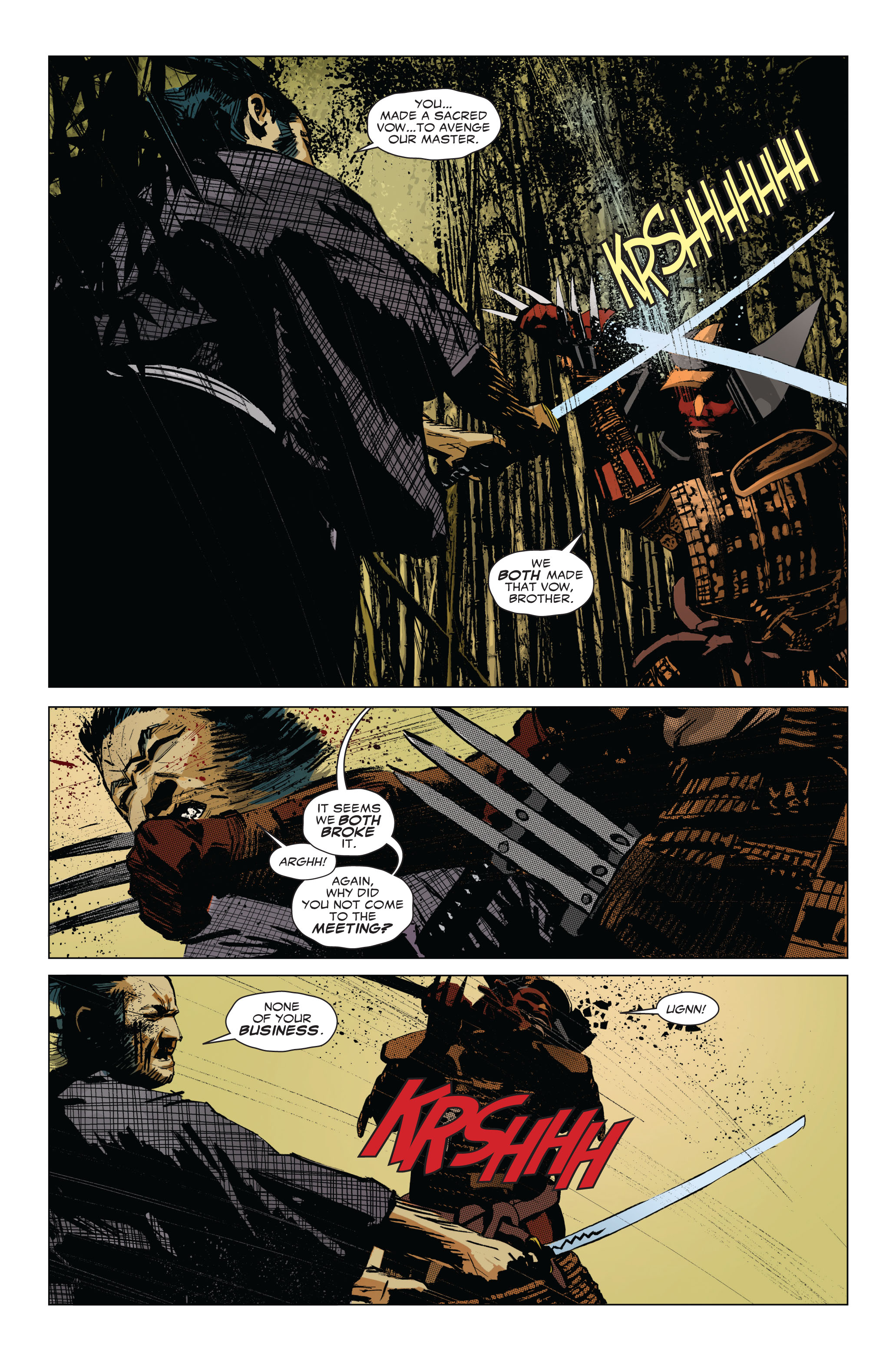 Read online 5 Ronin (2011) comic -  Issue #1 - 19