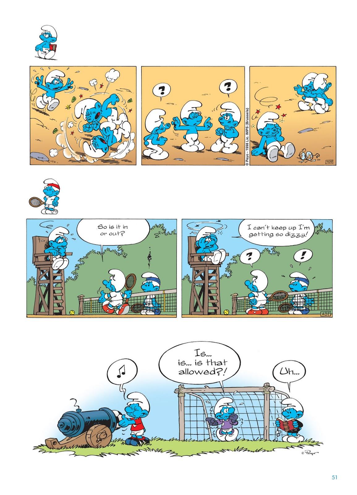 Read online The Smurfs comic -  Issue #11 - 51