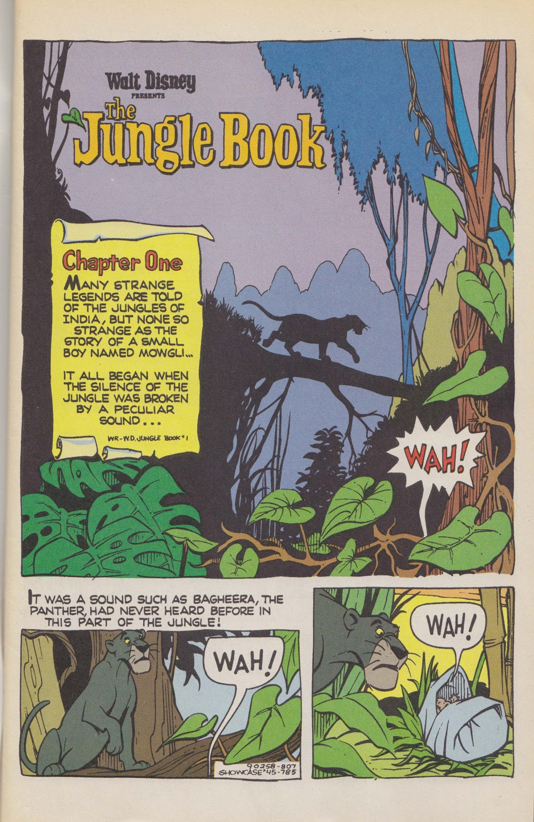 Read online The Jungle Book comic -  Issue # Full - 3