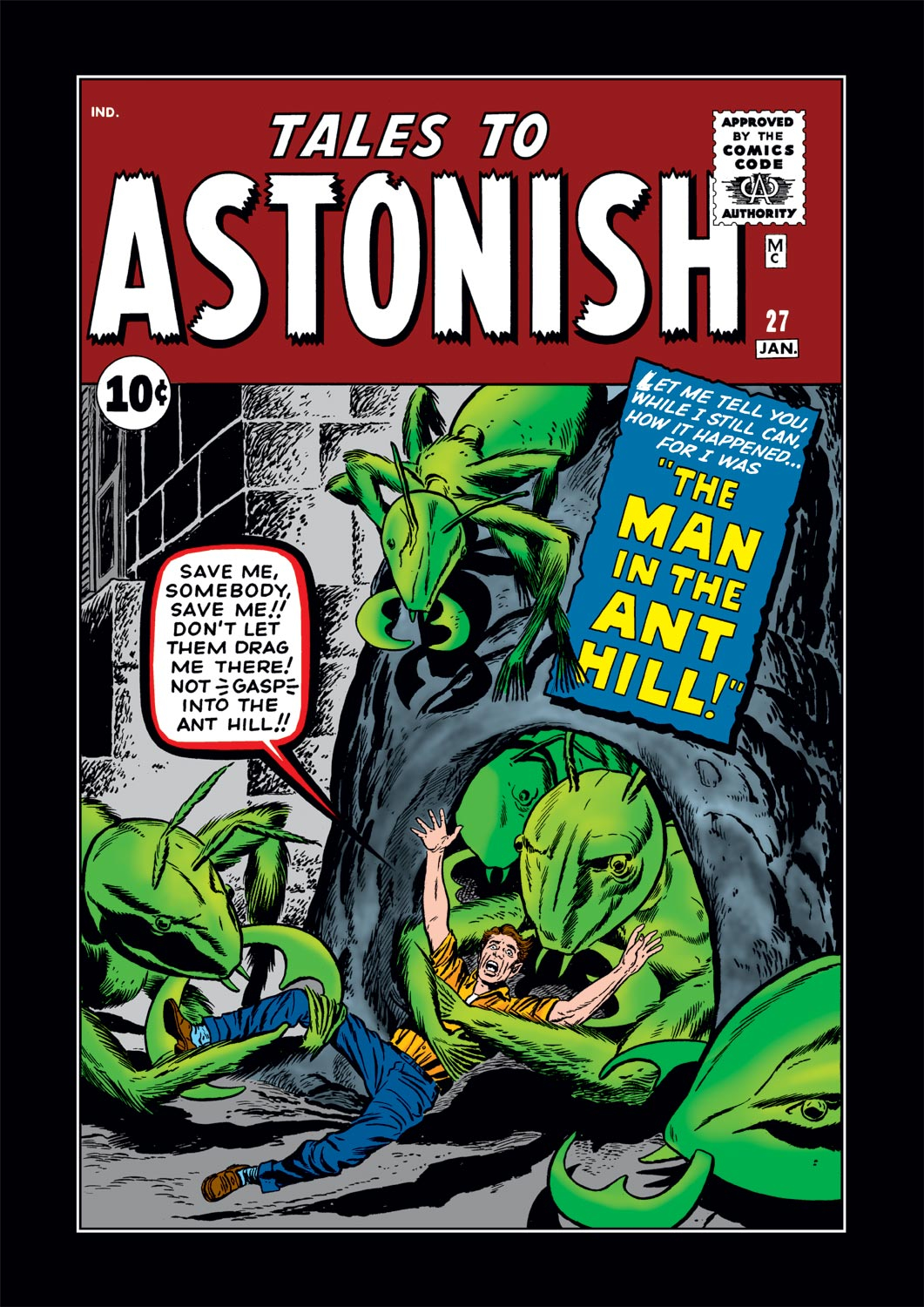 Tales to Astonish (1959) issue 27 - Page 1